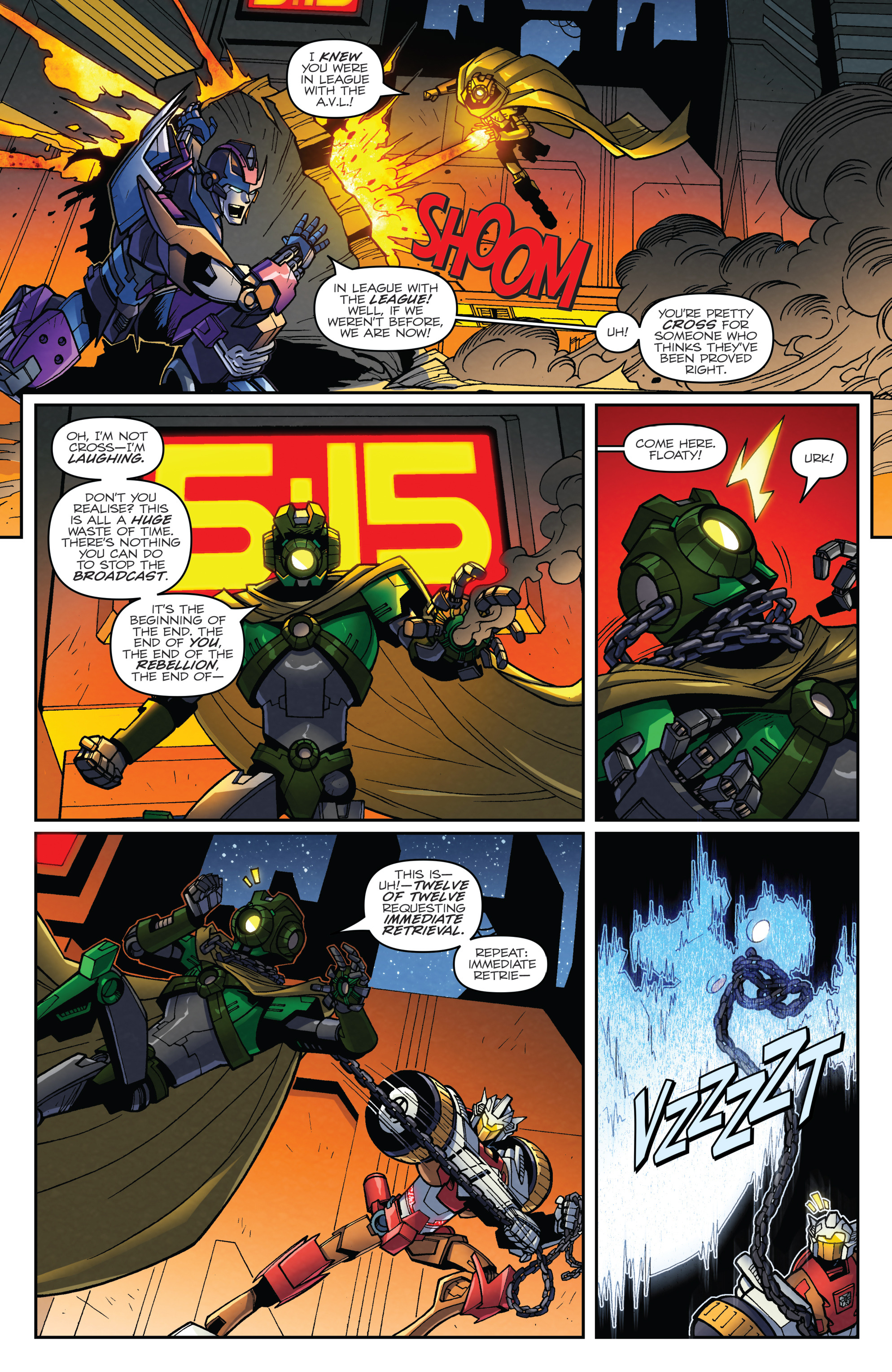 Read online Transformers: Lost Light comic -  Issue #2 - 20