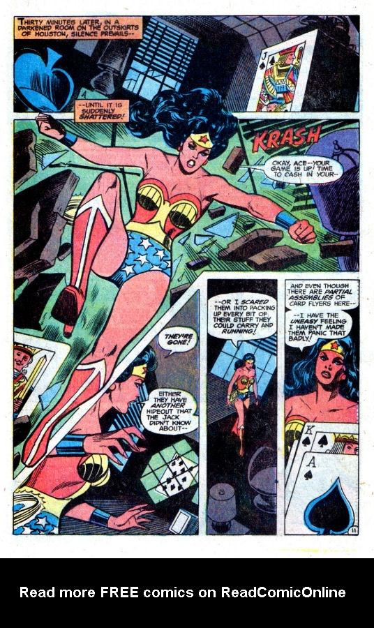 Read online Wonder Woman (1942) comic -  Issue #256 - 18