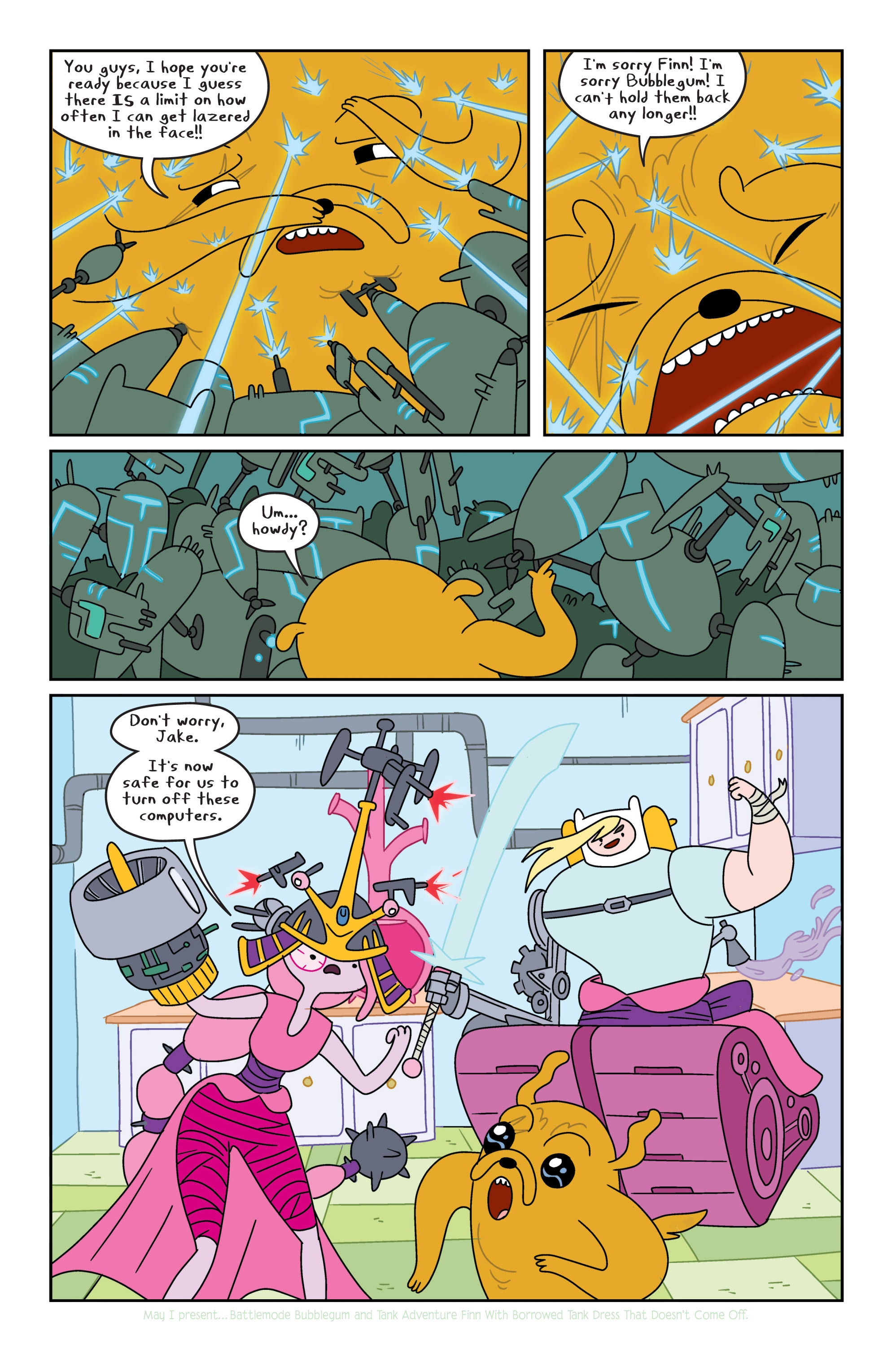 Read online Adventure Time comic -  Issue #8 - 8