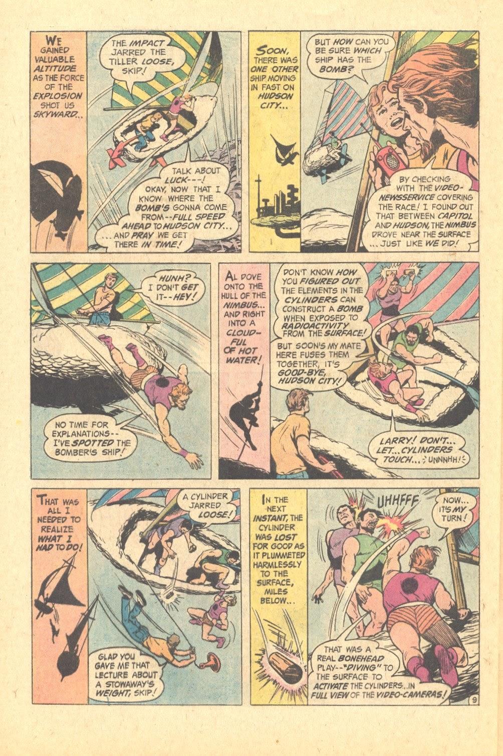 Read online Strange Sports Stories (1973) comic -  Issue #6 - 23
