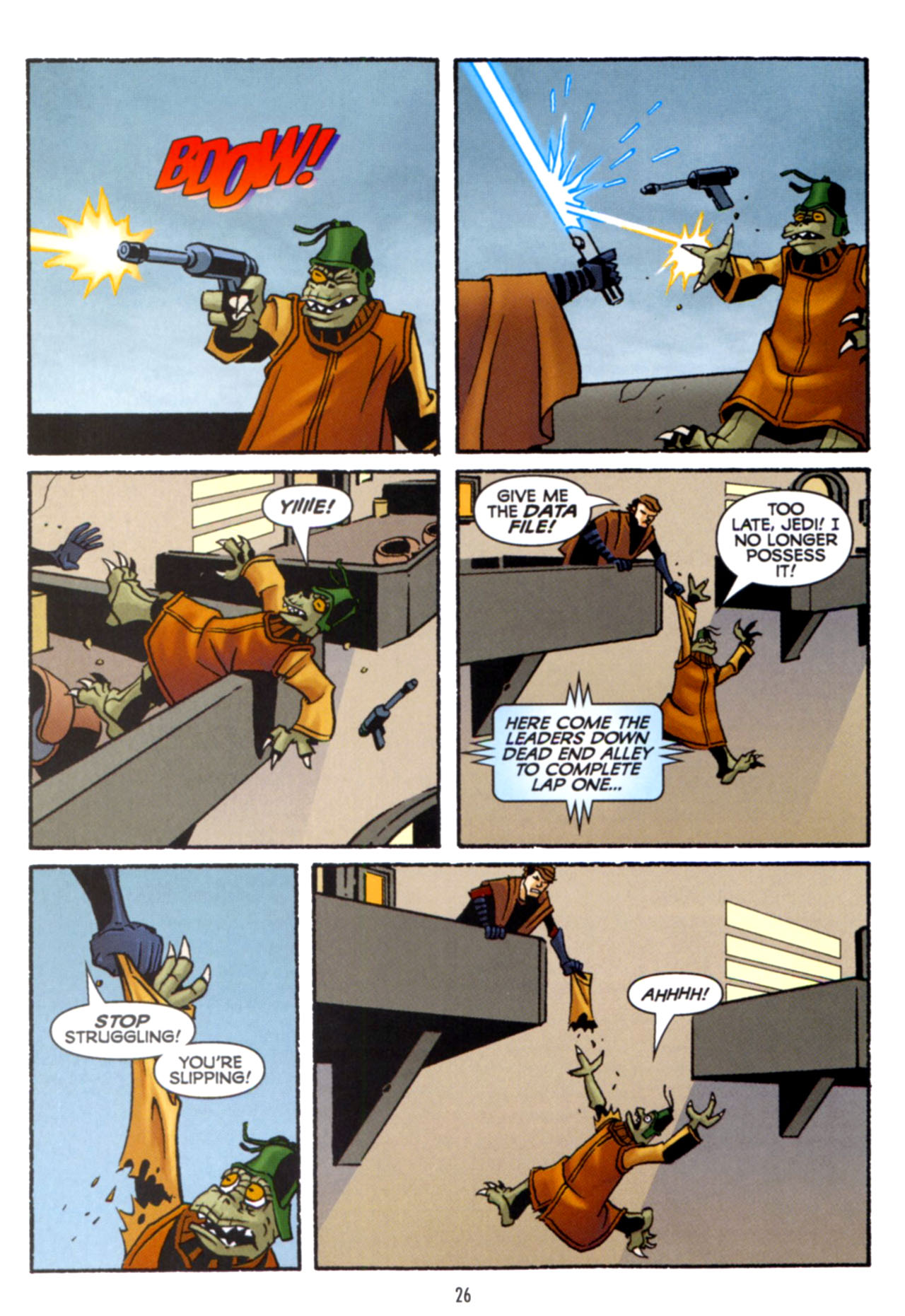 Read online Star Wars: The Clone Wars - Crash Course comic -  Issue # Full - 27