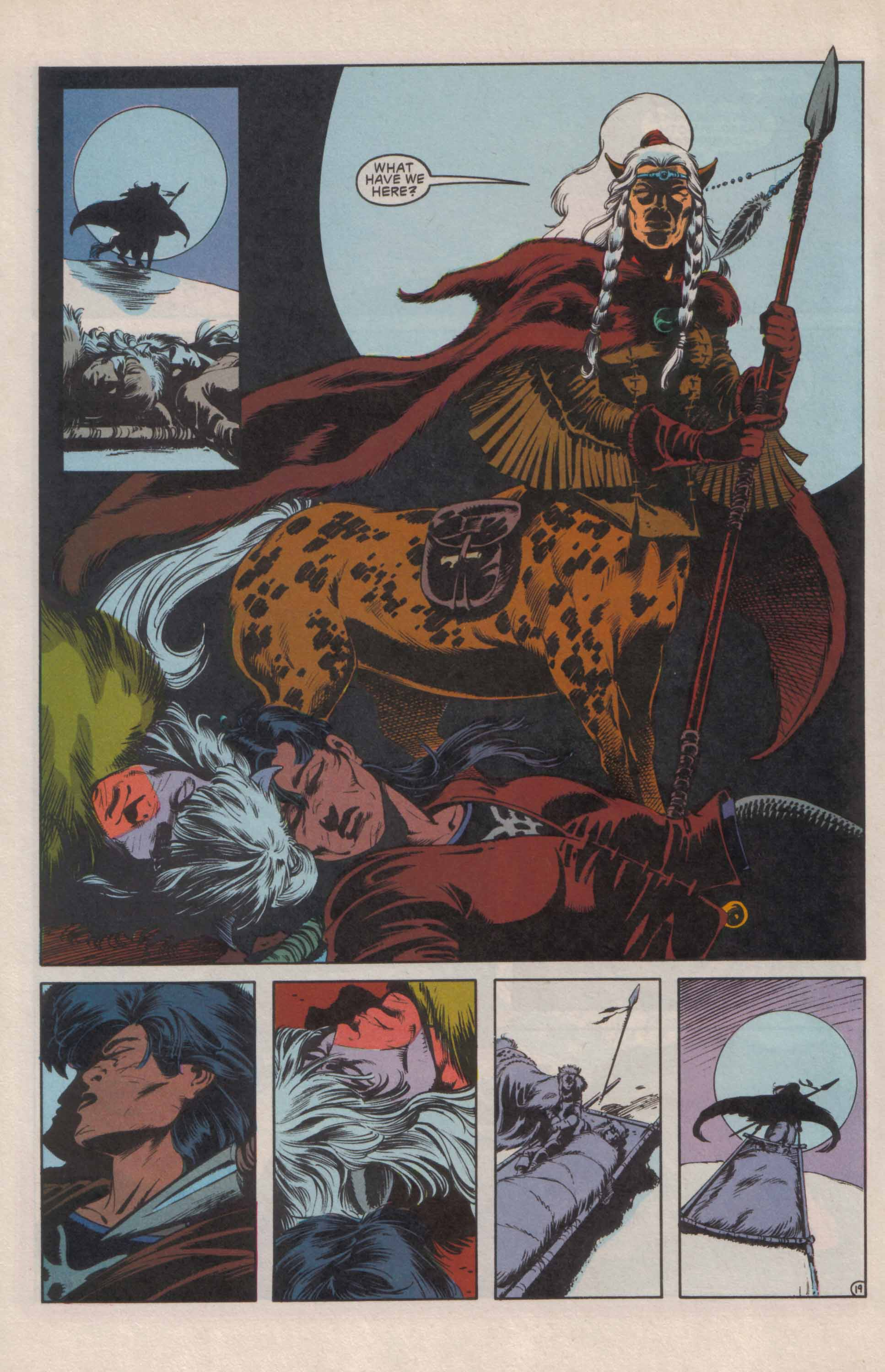 Read online Advanced Dungeons & Dragons comic -  Issue #24 - 20