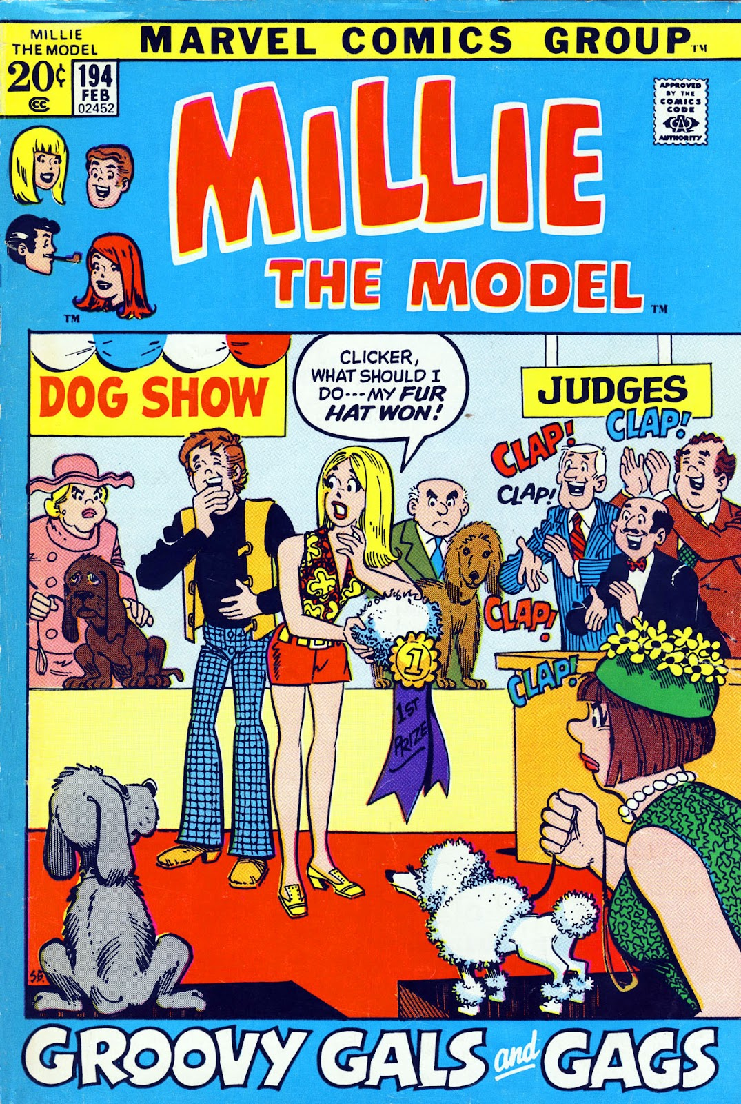 Millie the Model issue 194 - Page 1