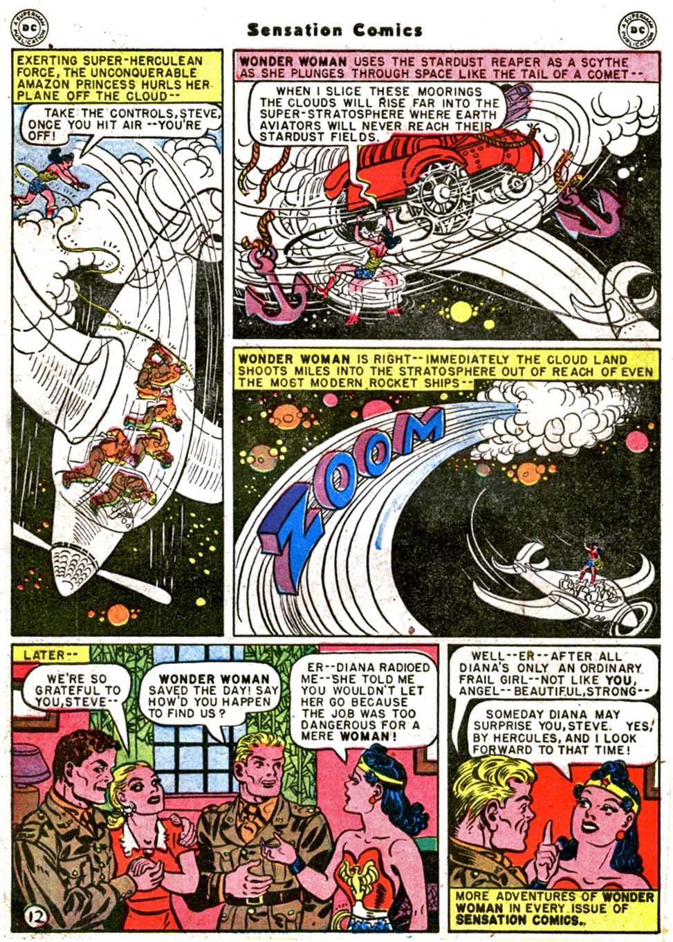Read online Sensation (Mystery) Comics comic -  Issue #64 - 14