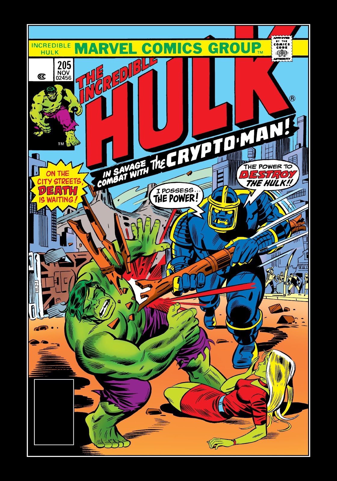 Read online Marvel Masterworks: The Incredible Hulk comic -  Issue # TPB 12 (Part 2) - 92