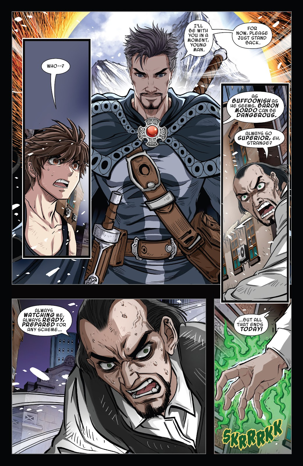 Read online Sword Master comic -  Issue #5 - 14