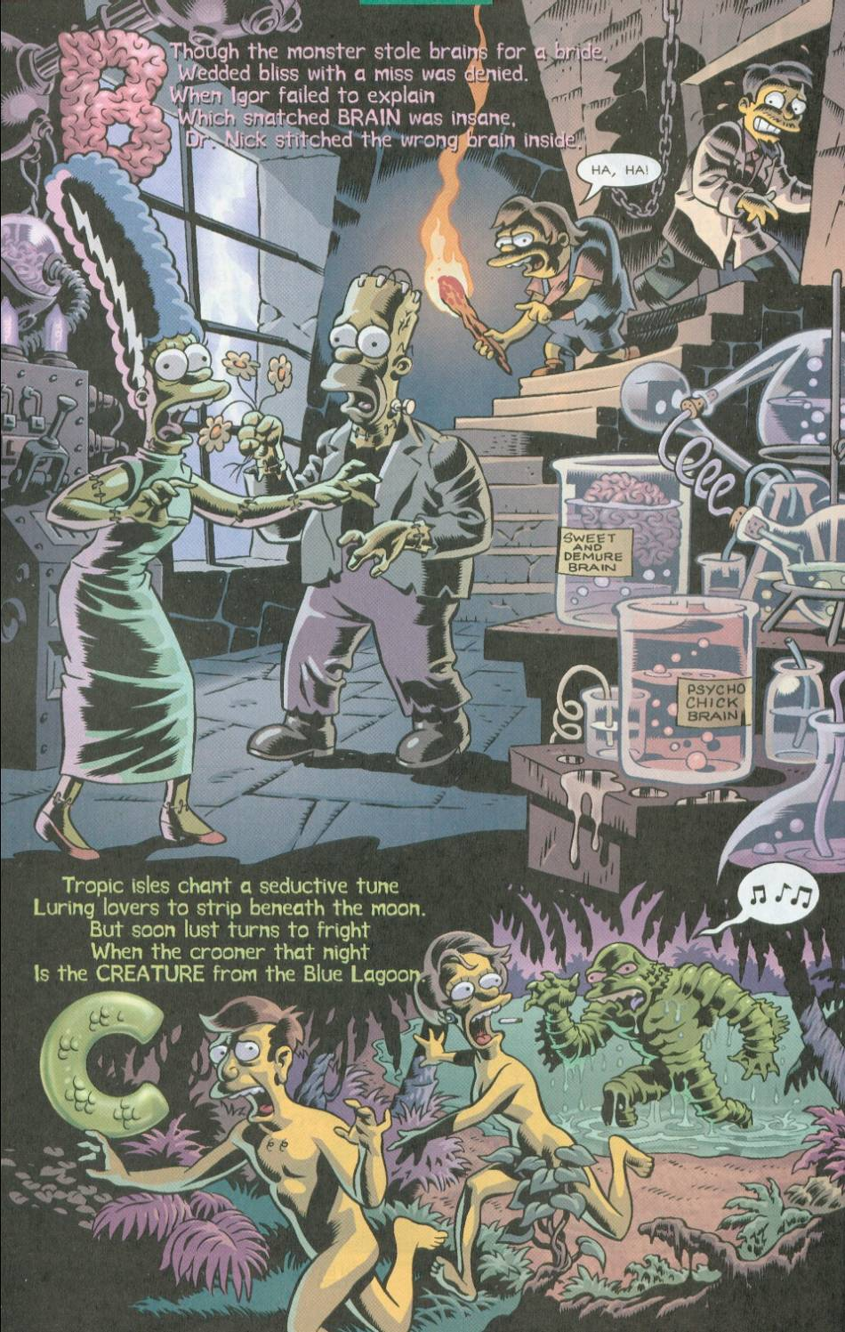 Read online Treehouse of Horror comic -  Issue #8 - 33