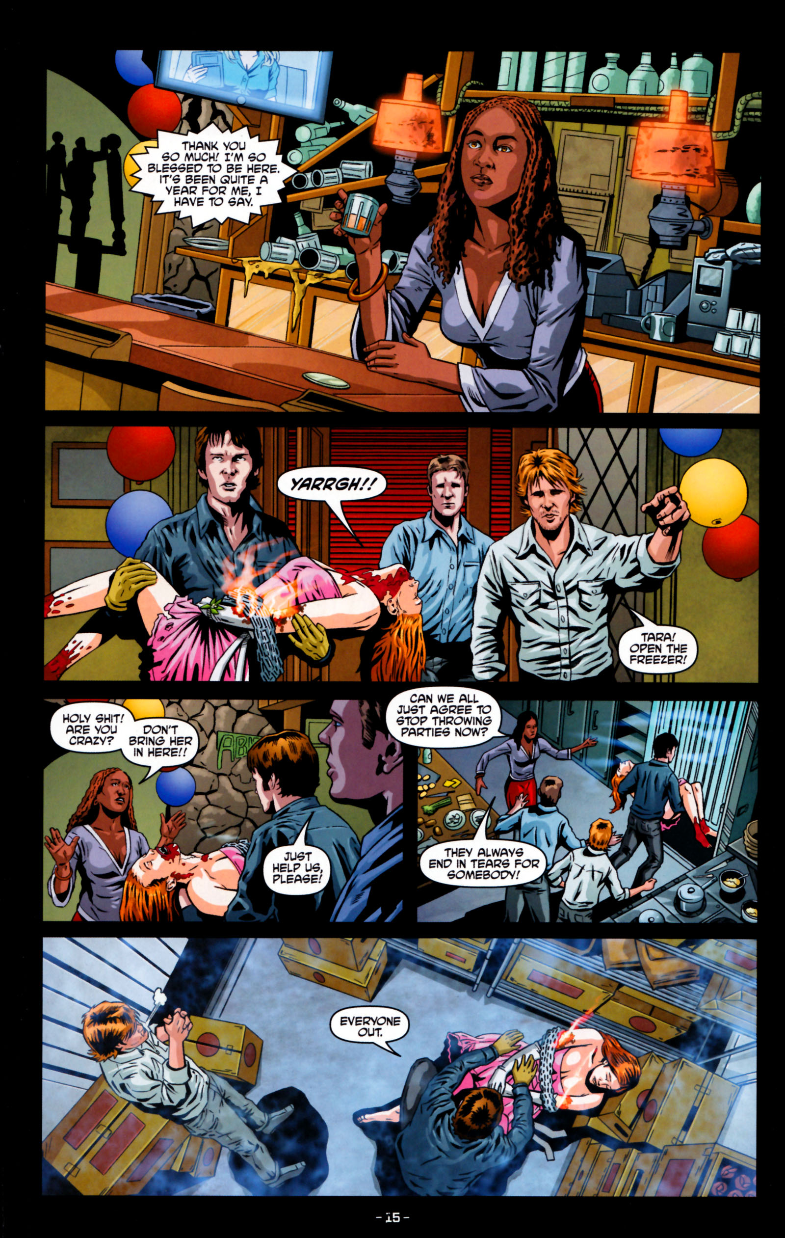 Read online True Blood: Tainted Love comic -  Issue #5 - 18
