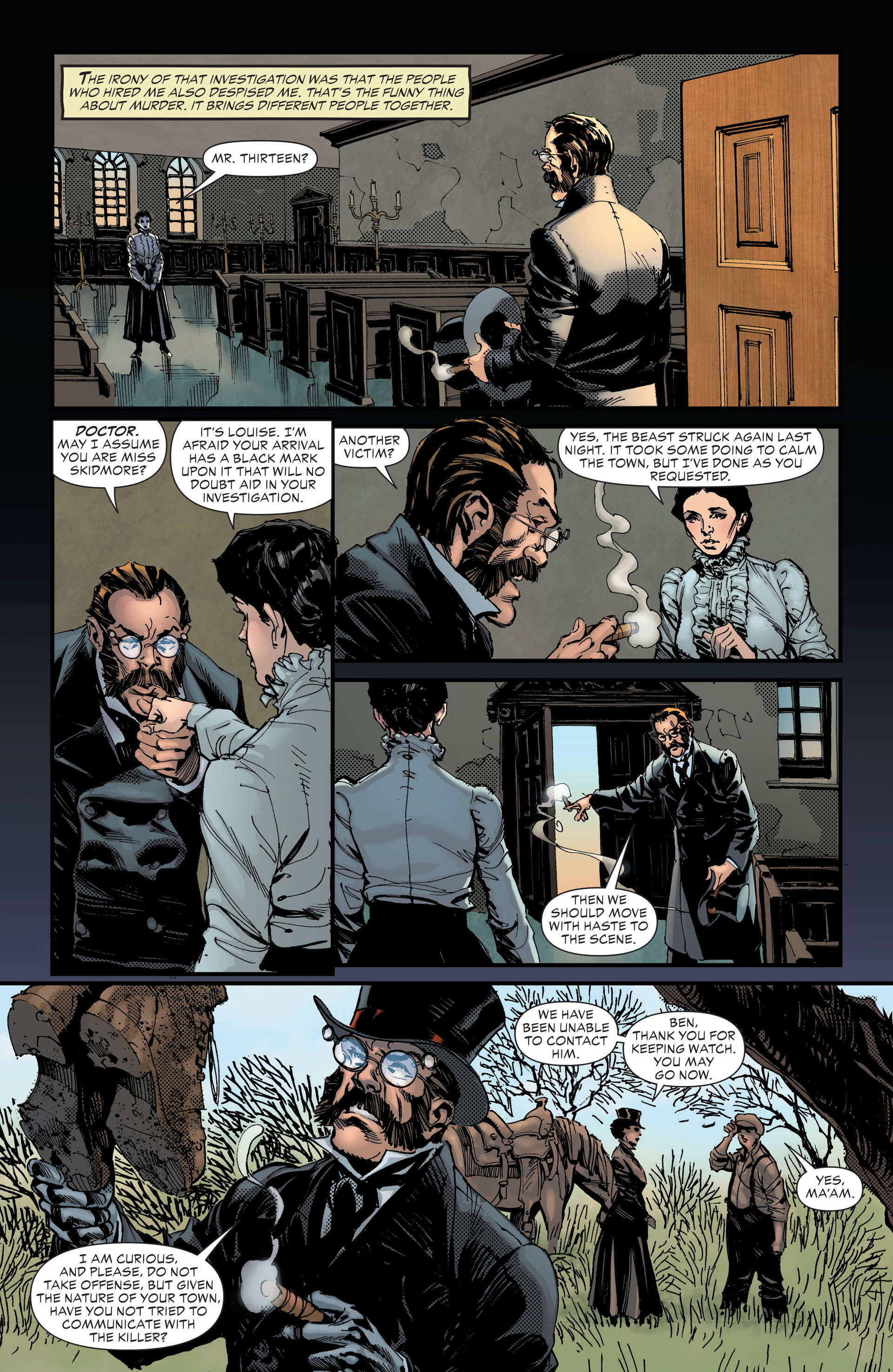 Read online All-Star Western (2011) comic -  Issue #18 - 25