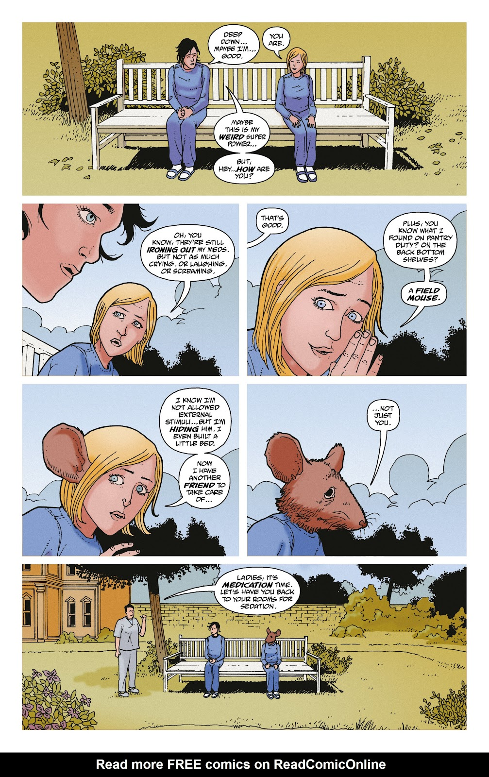 Read online She Could Fly comic -  Issue # _TPB - 140
