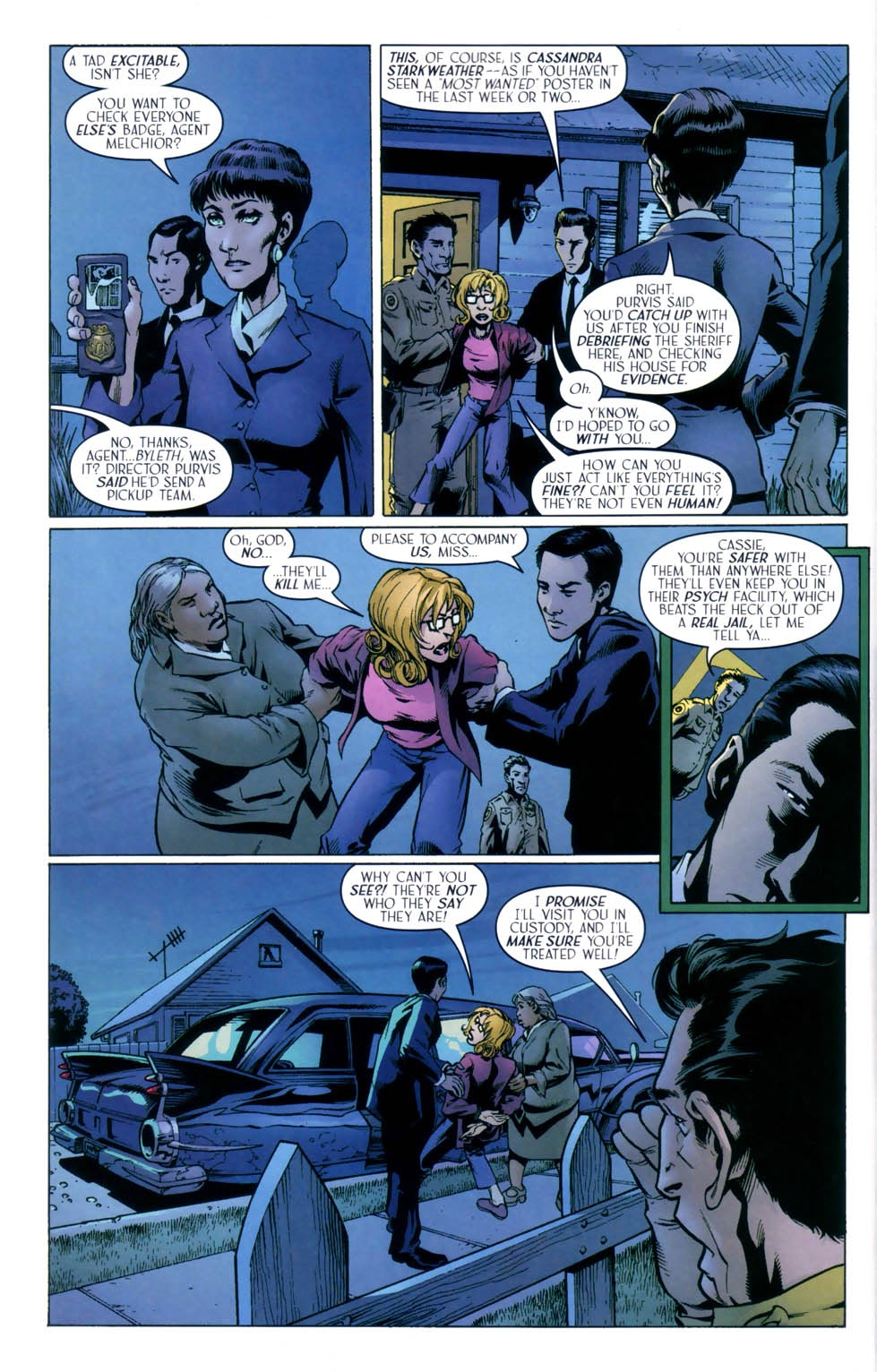 Read online Route 666 comic -  Issue #8 - 6