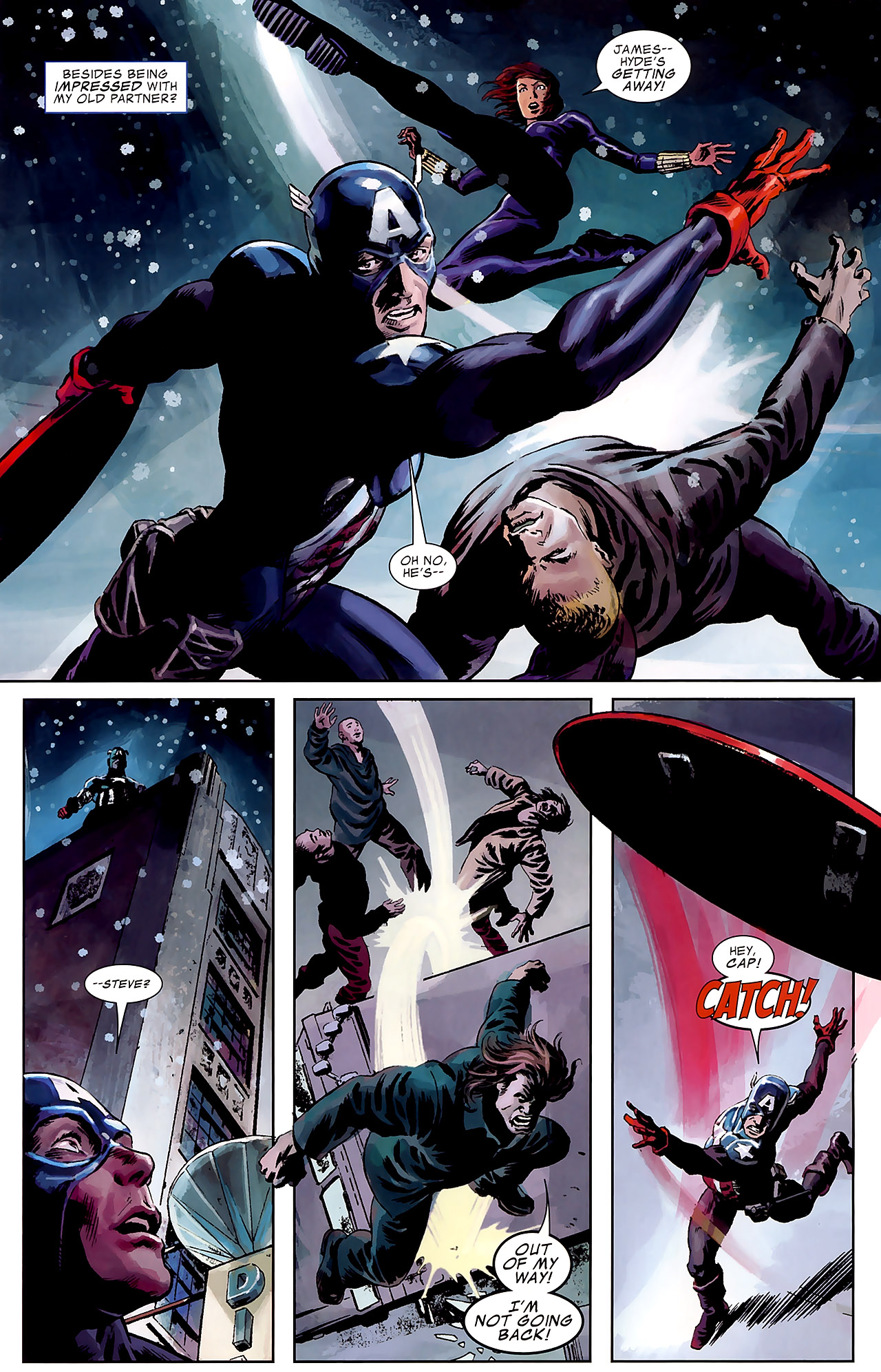 Read online Captain America Reborn: Who Will Wield the Shield? comic -  Issue # Full - 19