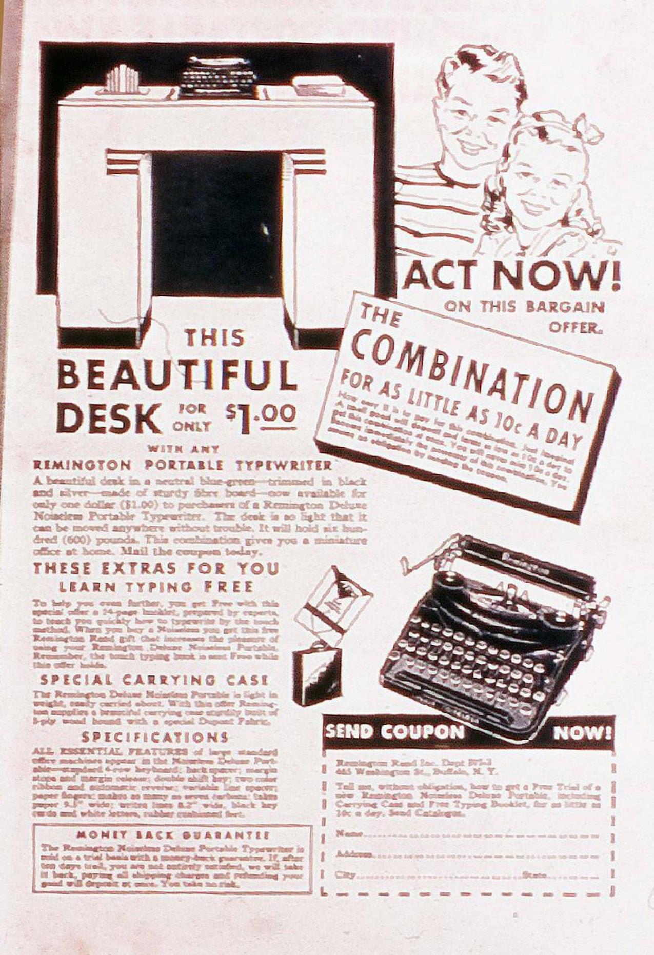 Read online Amazing Man Comics comic -  Issue #20 - 68
