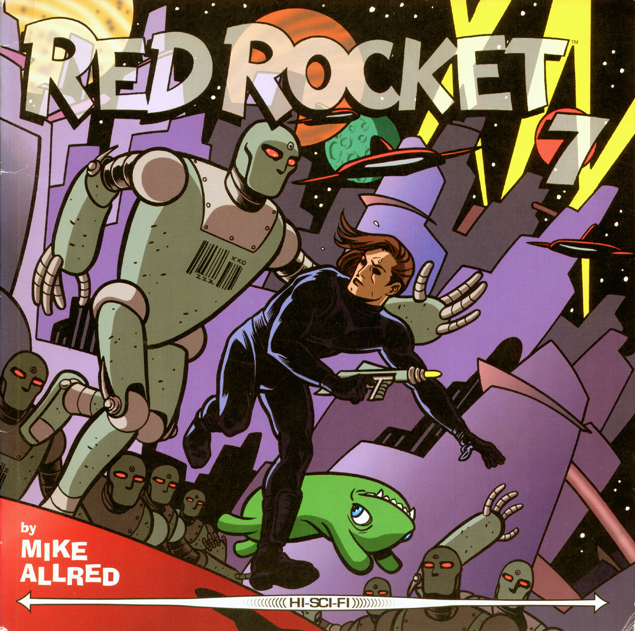 Red Rocket 7 issue 2 - Page 1