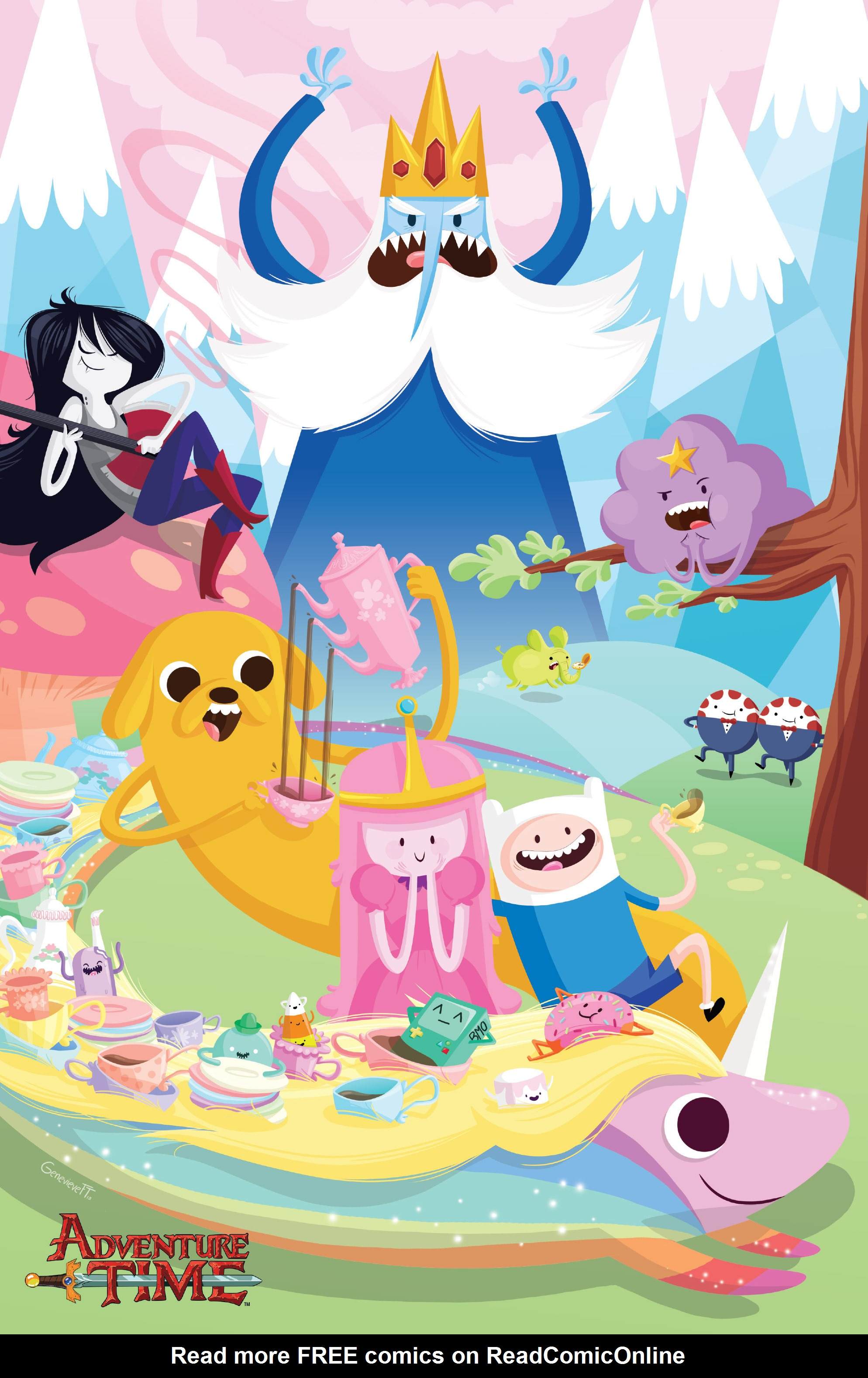 Read online Adventure Time comic -  Issue #23 - 3