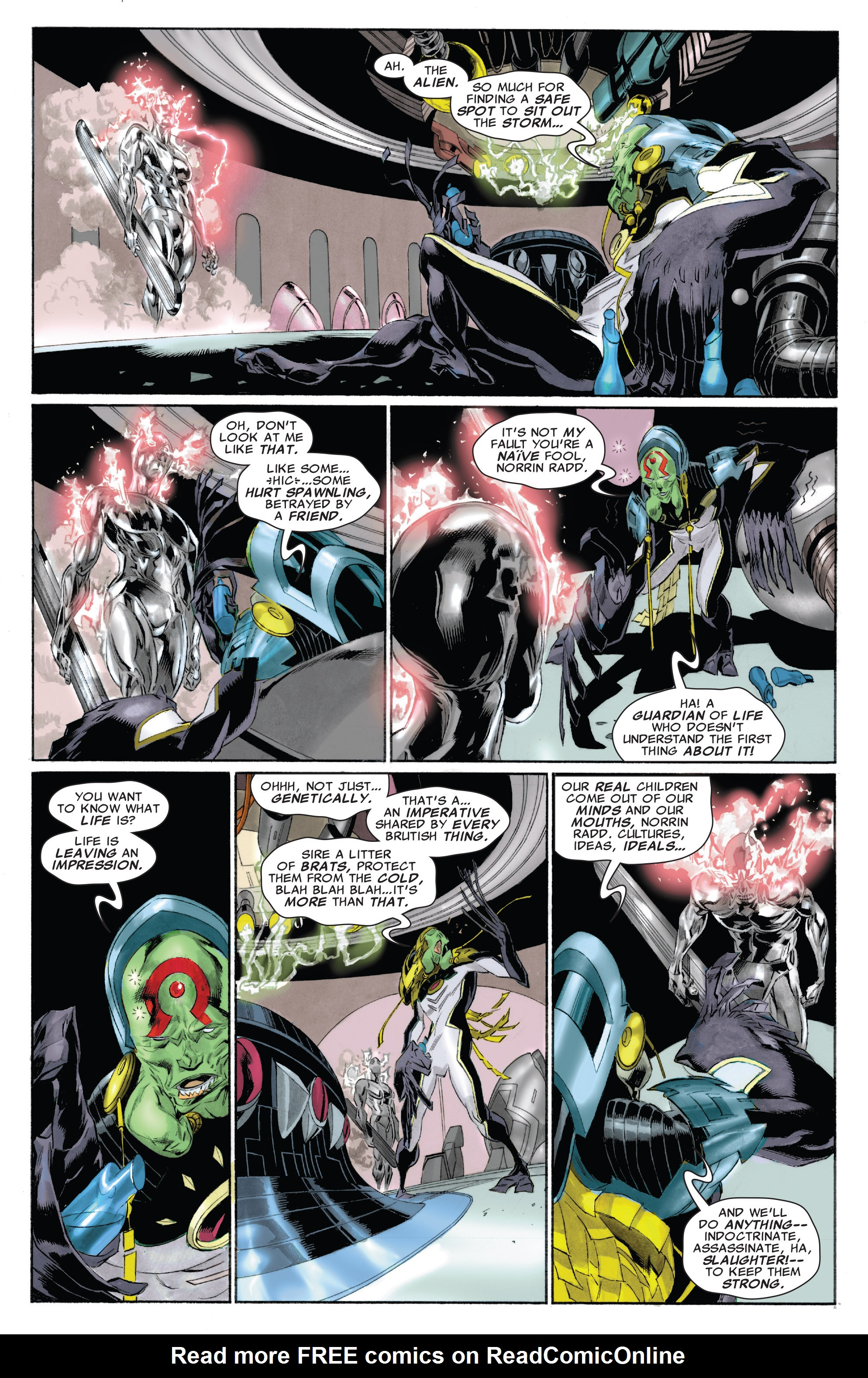 Read online Silver Surfer: In Thy Name comic -  Issue #4 - 19