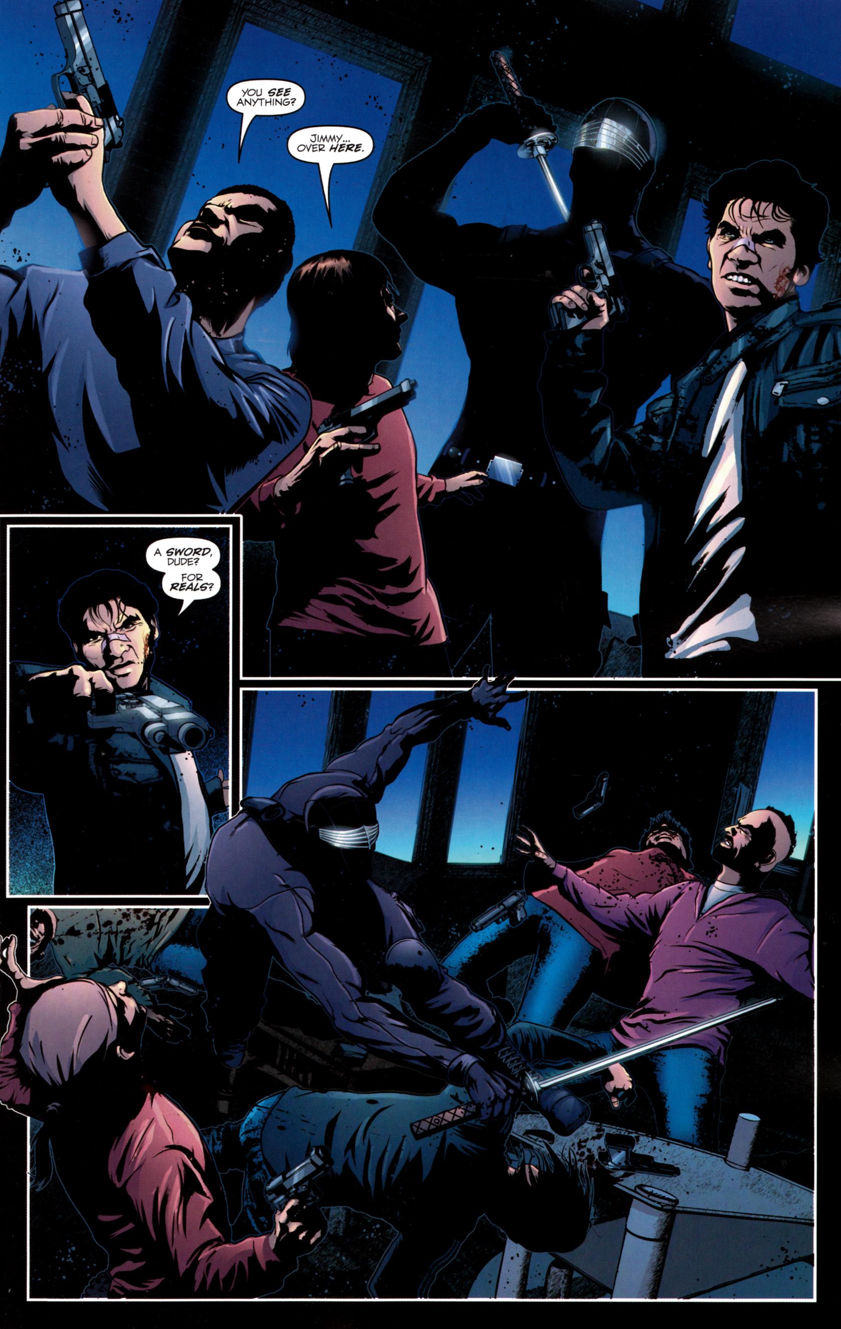 Read online G.I. Joe: Snake Eyes comic -  Issue #12 - 18