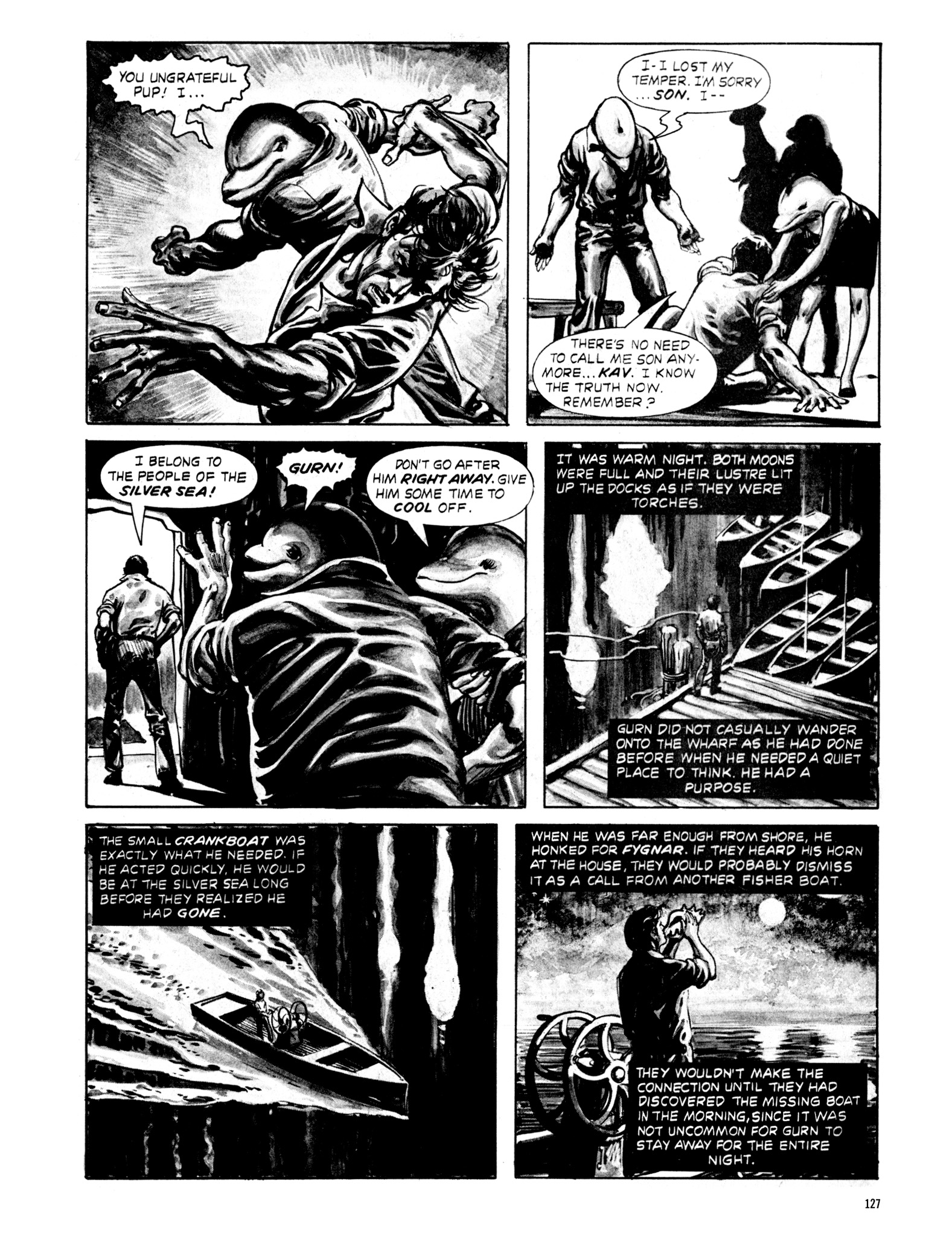 Read online Eerie Archives comic -  Issue # TPB 20 - 127