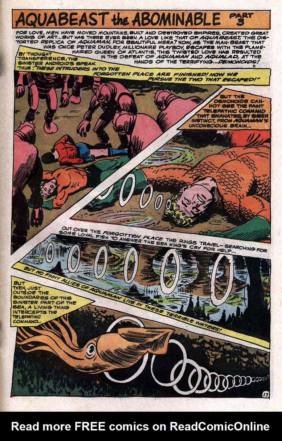 Read online Aquaman (1962) comic -  Issue #34 - 25