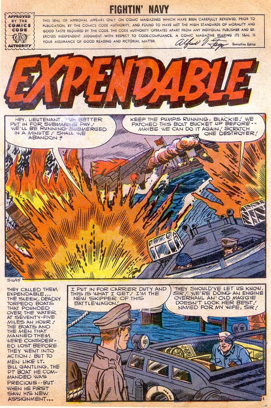 Read online Fightin' Navy comic -  Issue #79 - 3