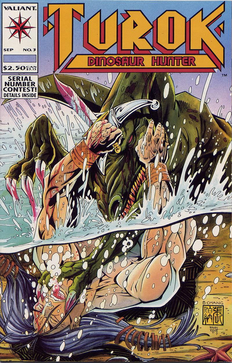 Read online Turok, Dinosaur Hunter (1993) comic -  Issue #3 - 1