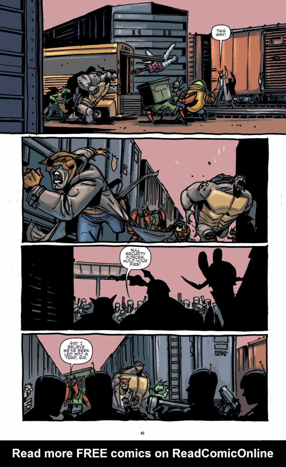 Read online Teenage Mutant Ninja Turtles: The IDW Collection comic -  Issue # TPB 6 (Part 1) - 44