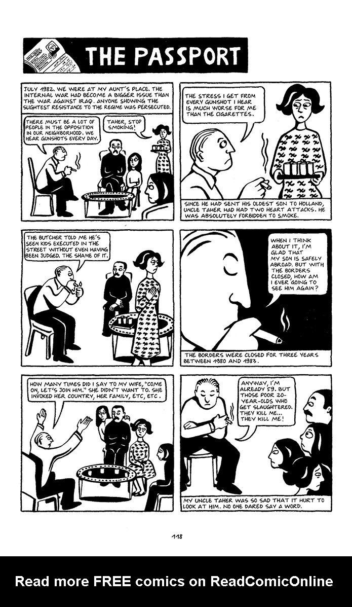 Persepolis Tpb 1 Read Persepolis Issue Tpb 1 Page 121