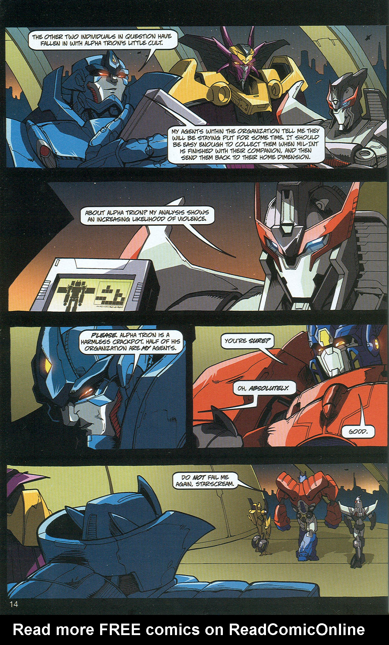Read online Transformers: Collectors' Club comic -  Issue #22 - 14