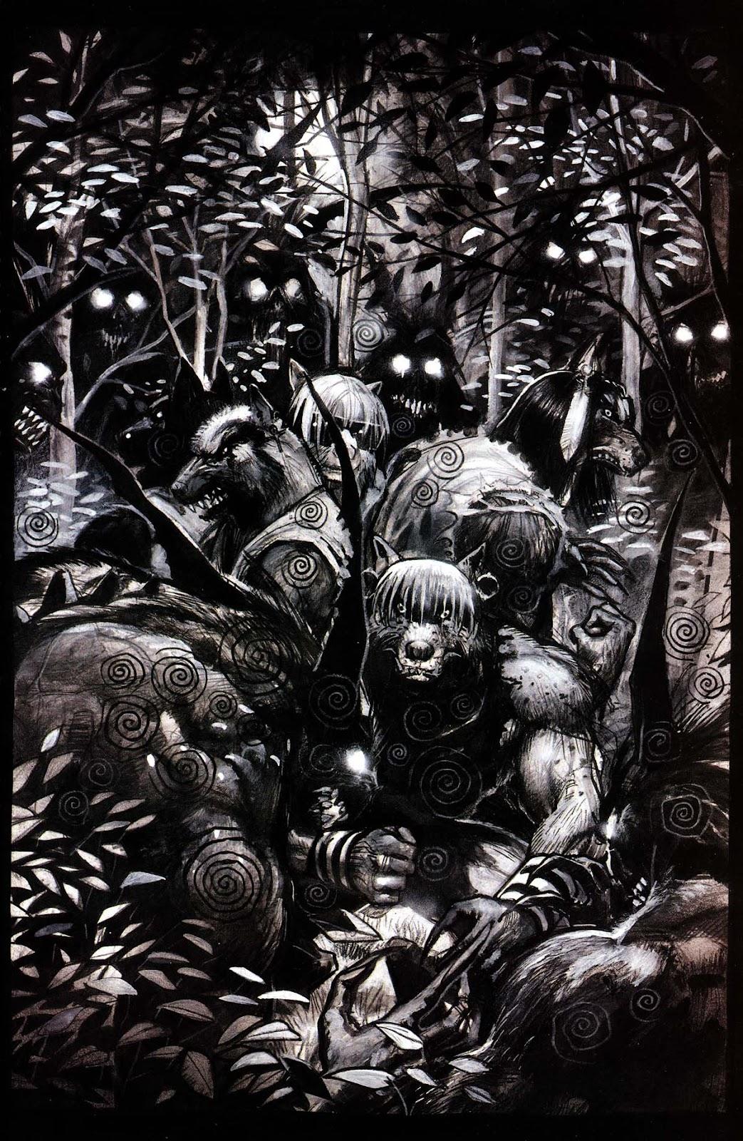 Read online Werewolf the Apocalypse comic -  Issue # Black Furies - 25