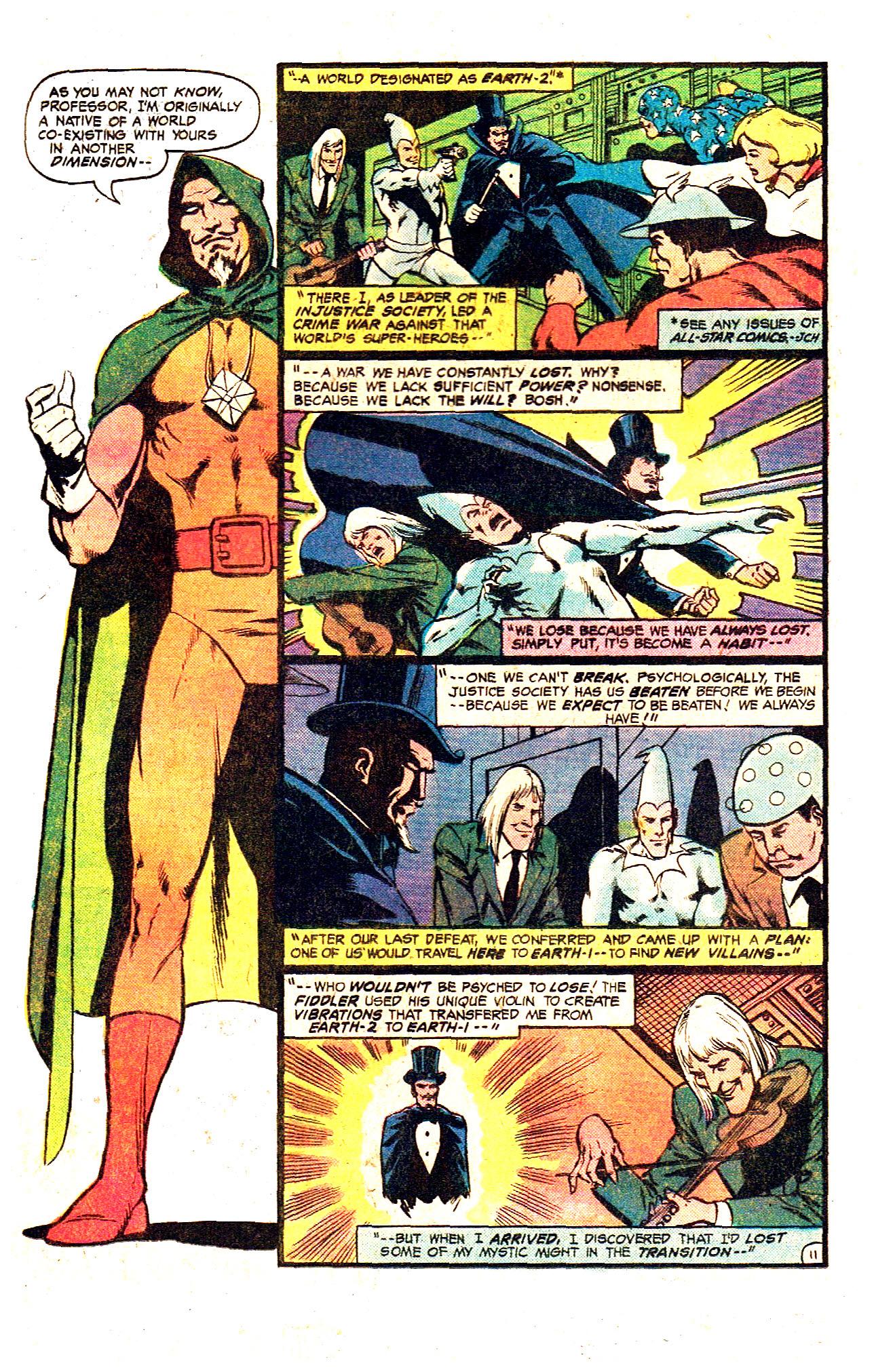 Read online Secret Society of Super-Villains comic -  Issue #12 - 21