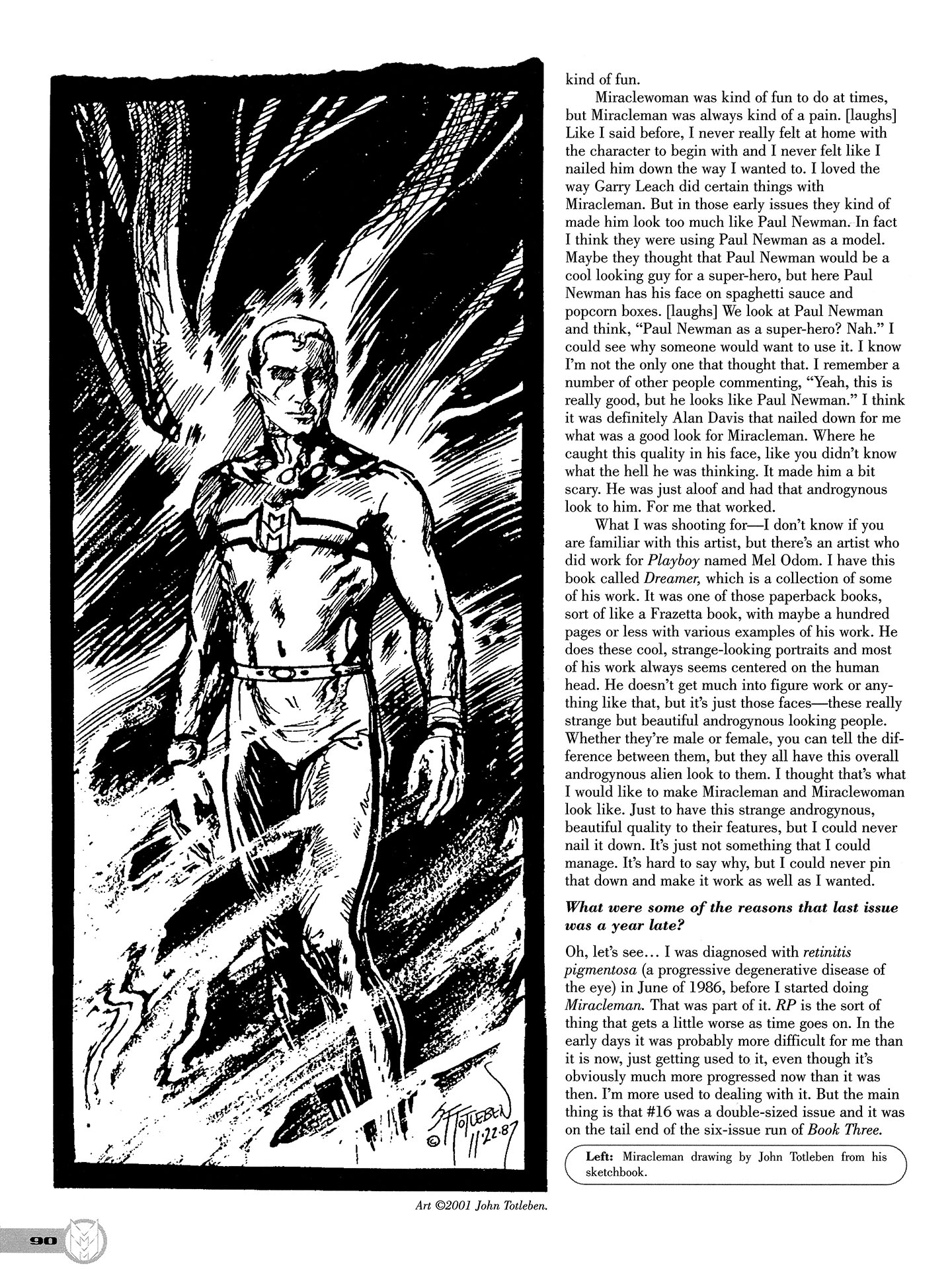 Read online Kimota!: The Miracleman Companion comic -  Issue # Full - 91