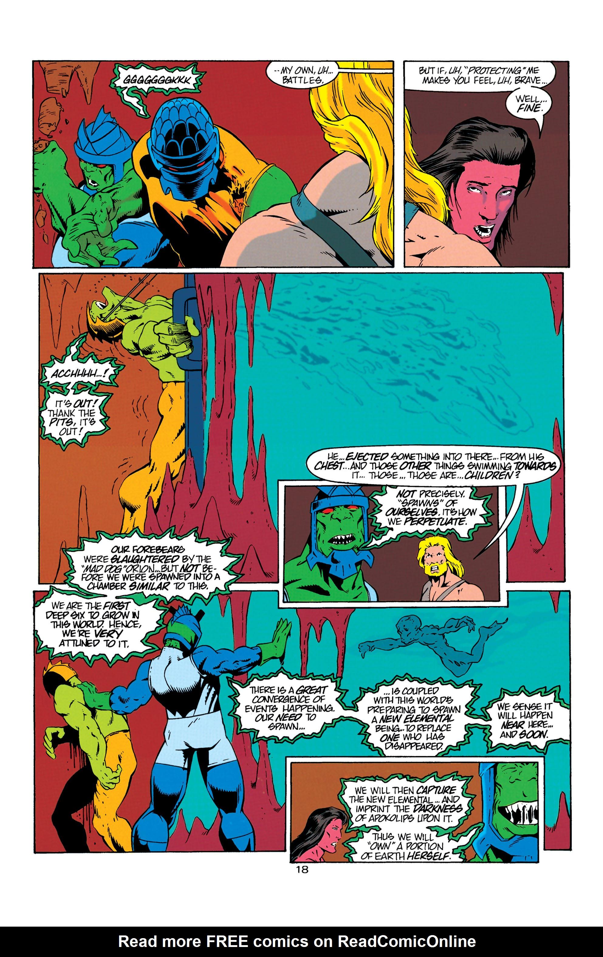 Read online Aquaman (1994) comic -  Issue #6 - 19