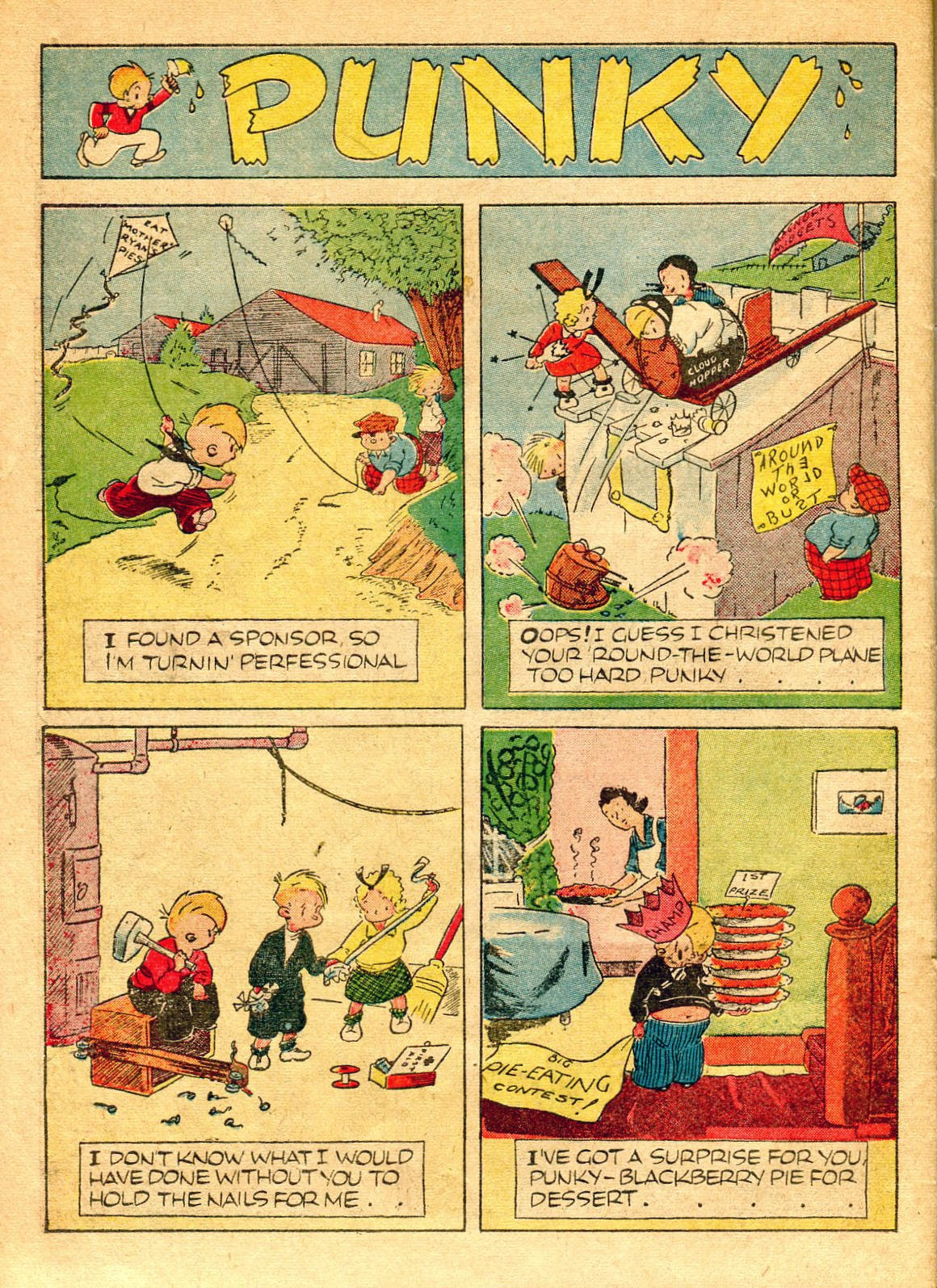 Read online Famous Funnies comic -  Issue #62 - 57