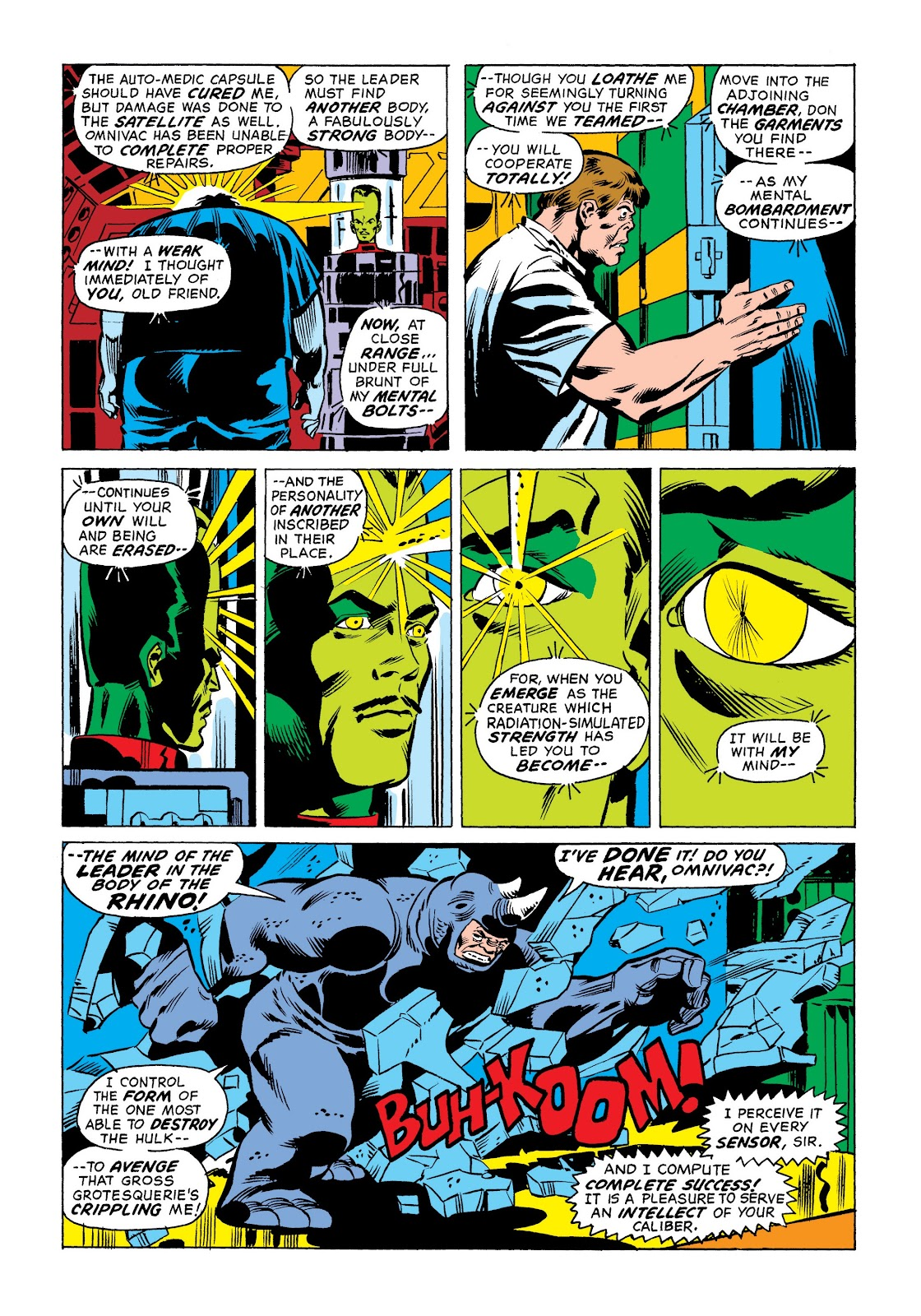 Read online Marvel Masterworks: The Incredible Hulk comic -  Issue # TPB 9 (Part 1) - 18