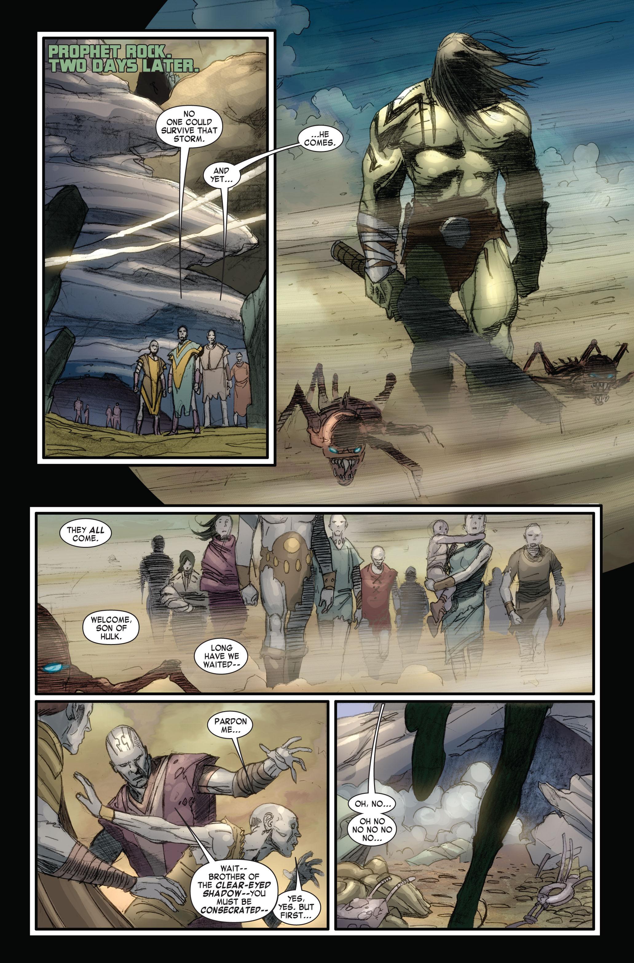 Read online Skaar: Son of Hulk comic -  Issue #4 - 12
