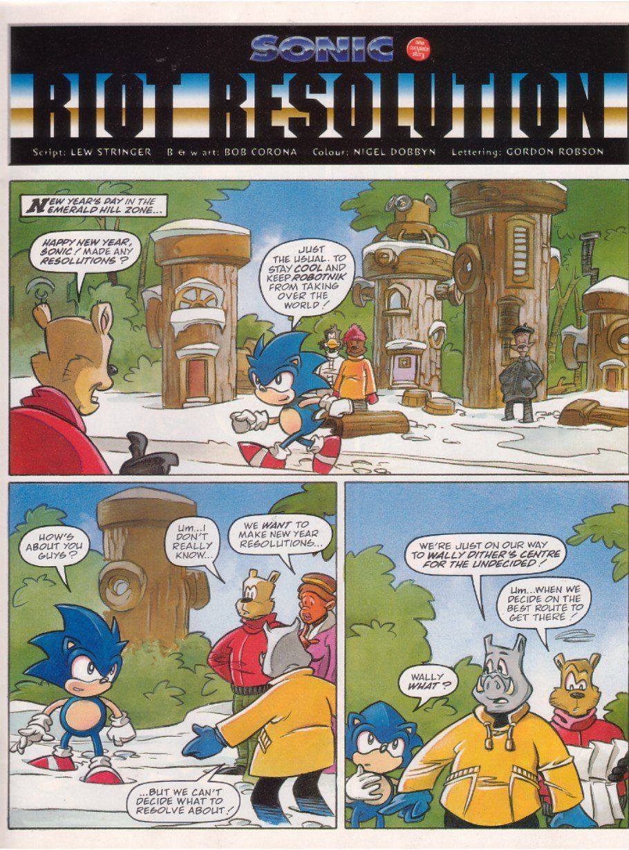 Read online Sonic the Comic comic -  Issue #120 - 3
