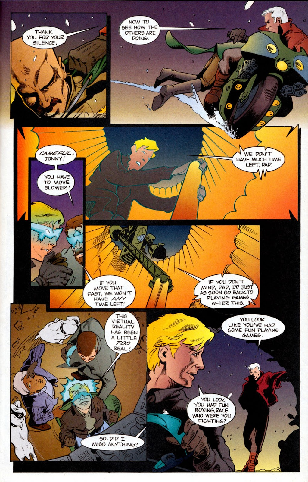 Read online The Real Adventures of Jonny Quest comic -  Issue #6 - 23