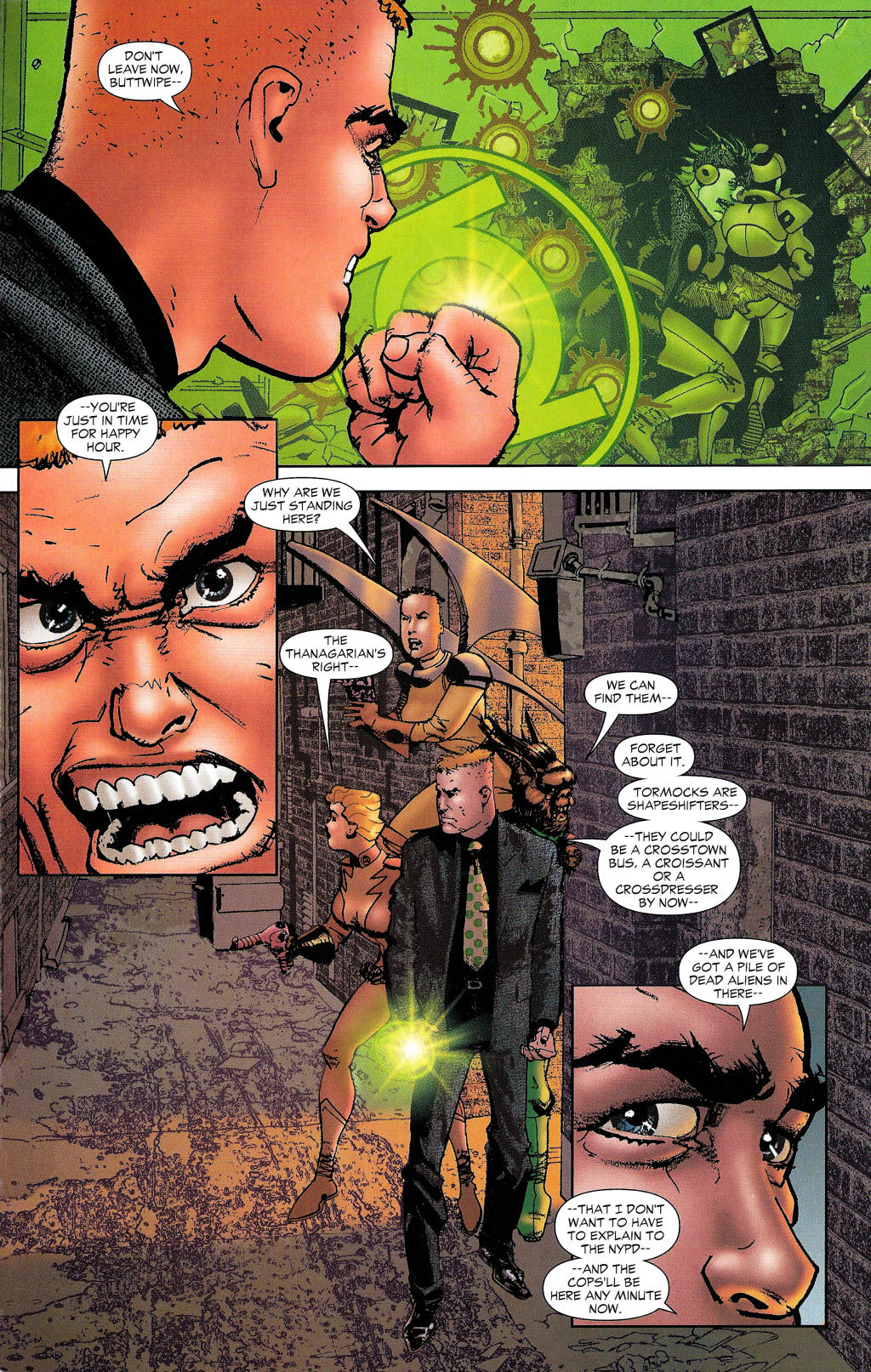 Read online Guy Gardner: Collateral Damage comic -  Issue #1 - 43