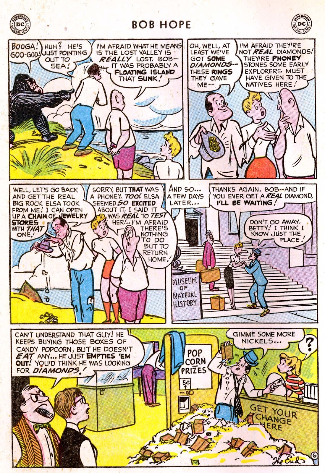 The Adventures of Bob Hope issue 33 - Page 32