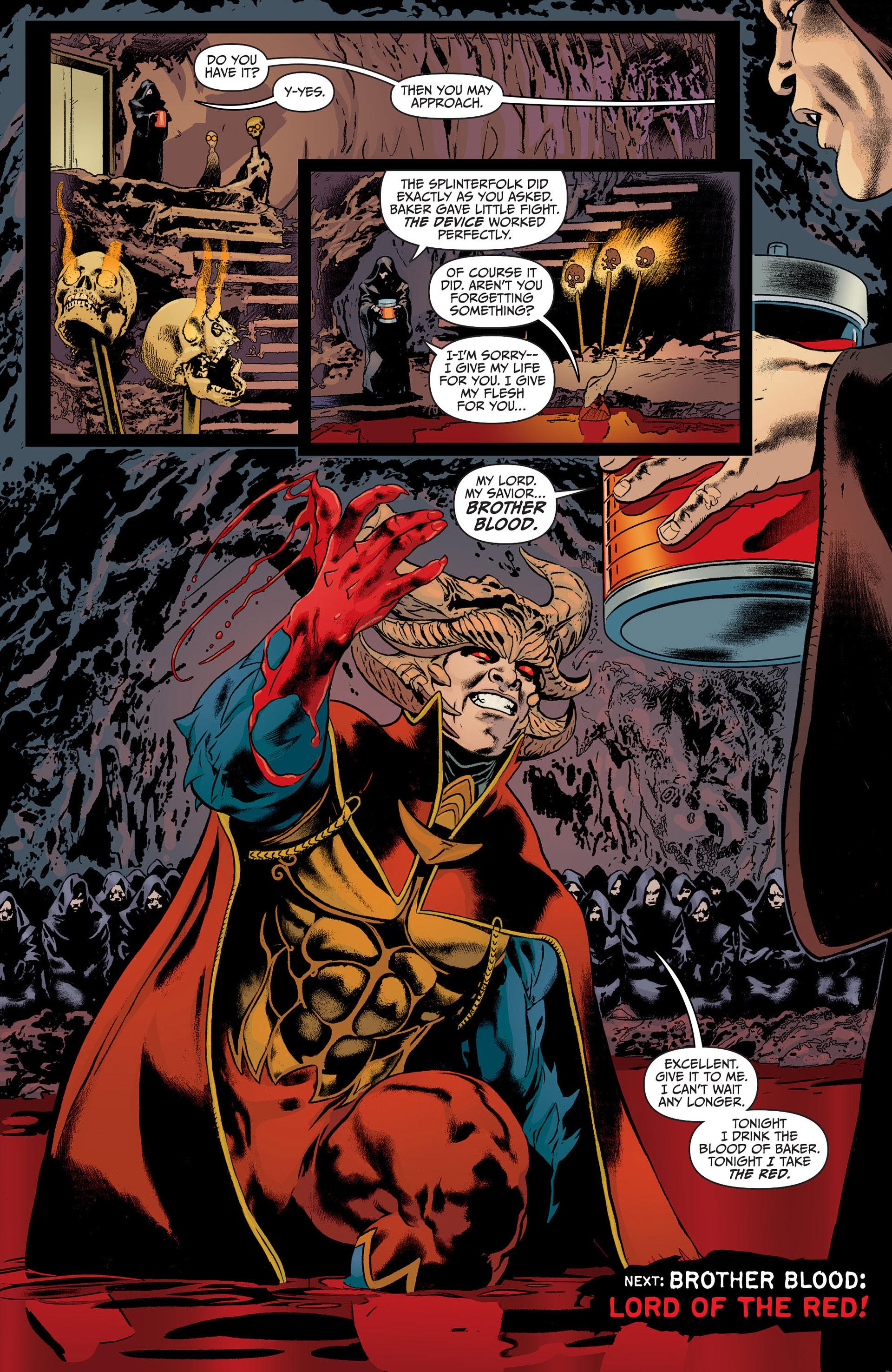 Read online Animal Man (2011) comic -  Issue #22 - 19