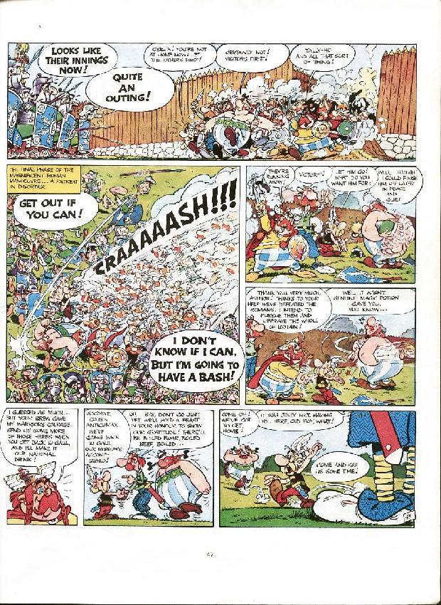 Read online Asterix comic -  Issue #8 - 44