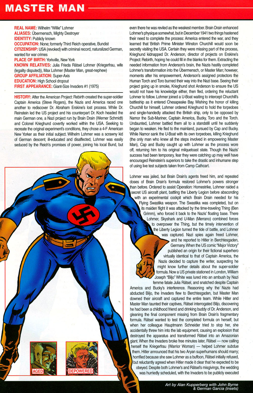 Read online All-New Official Handbook of the Marvel Universe A to Z: Update comic -  Issue #3 - 40