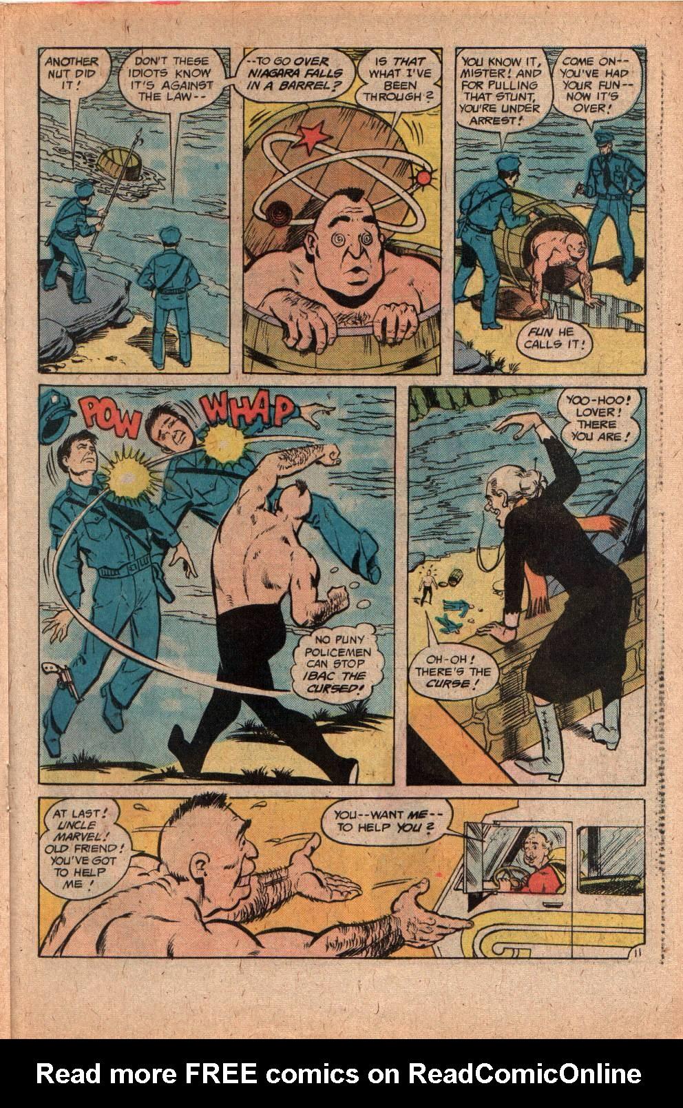 Read online Shazam! (1973) comic -  Issue #29 - 21