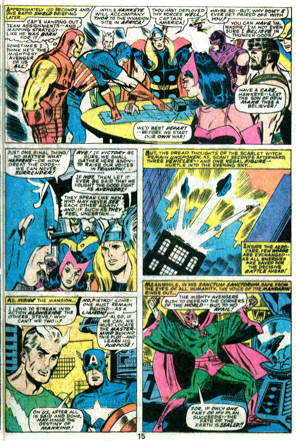 Giant-Size Avengers (1974) issue 5 - Page 12