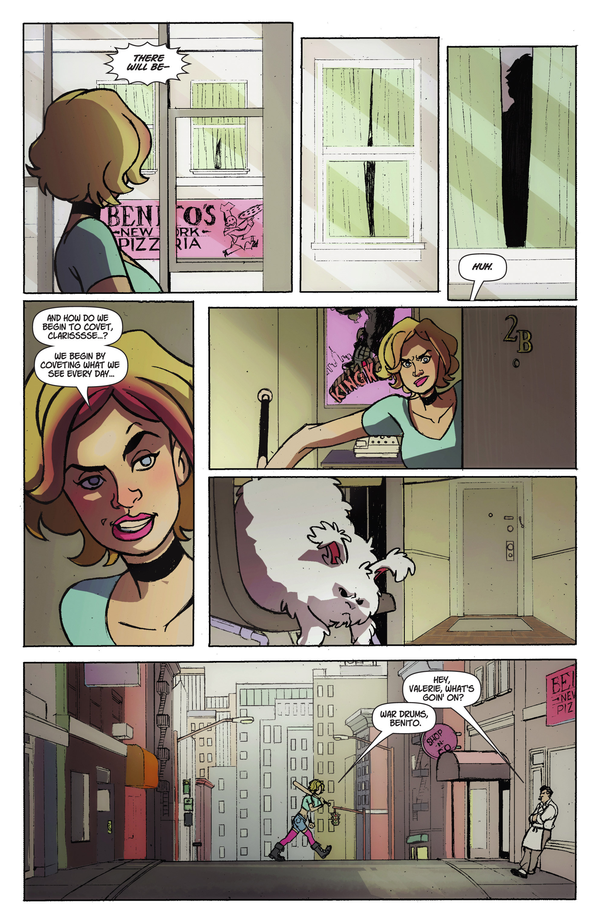 Read online A Train Called Love comic -  Issue #1 - 6