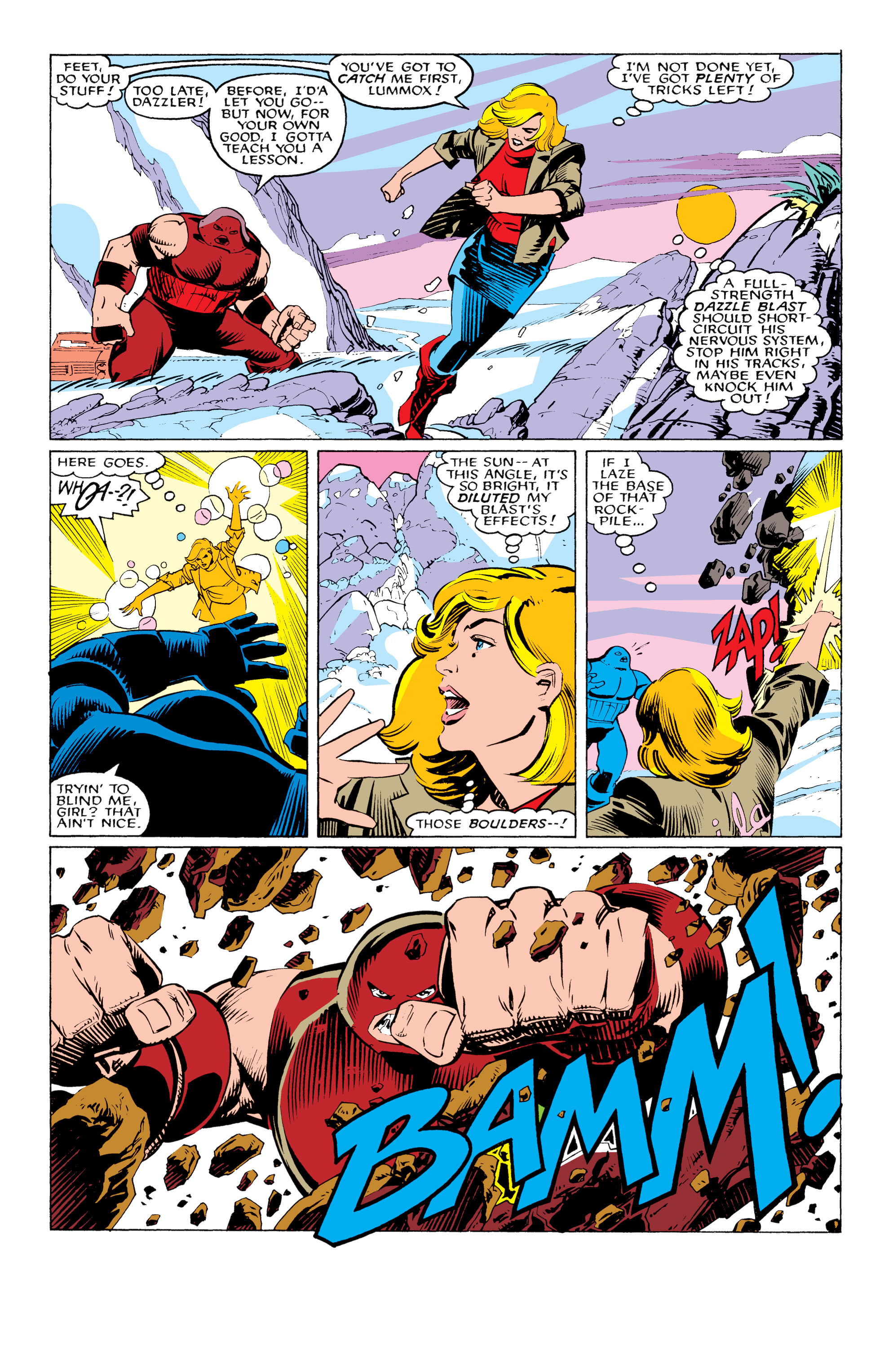 Read online Uncanny X-Men (1963) comic -  Issue #217 - 19
