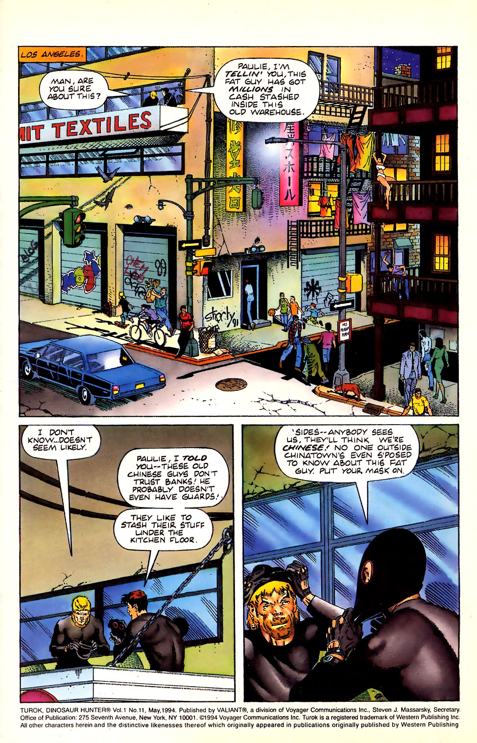Read online Turok, Dinosaur Hunter (1993) comic -  Issue #11 - 2