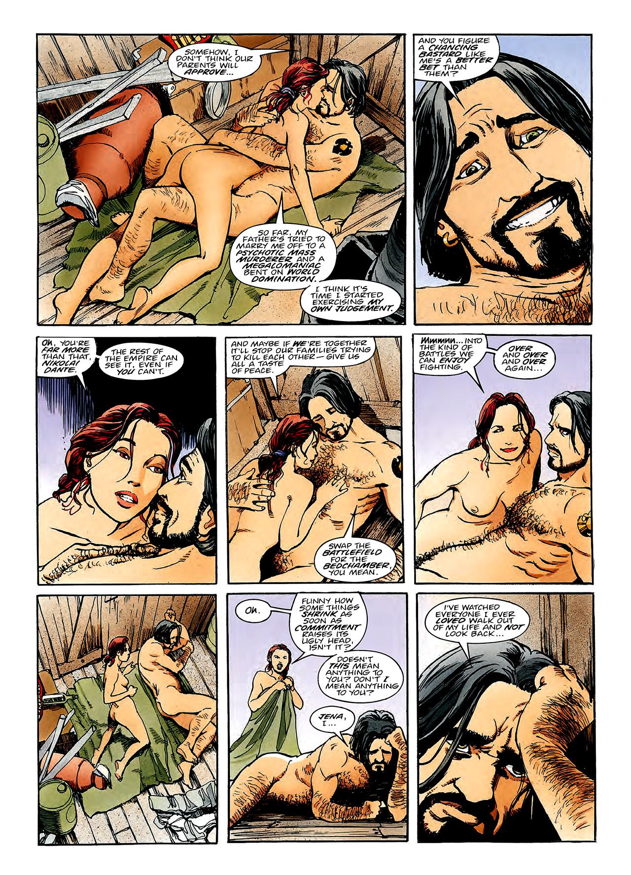 Read online Nikolai Dante comic -  Issue # TPB 3 - 128