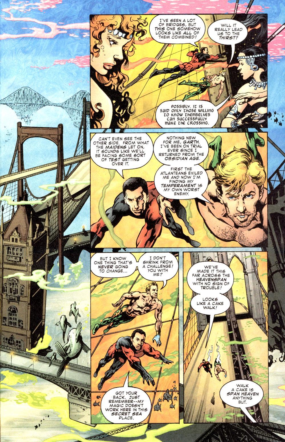 Read online Aquaman (2003) comic -  Issue #6 - 7