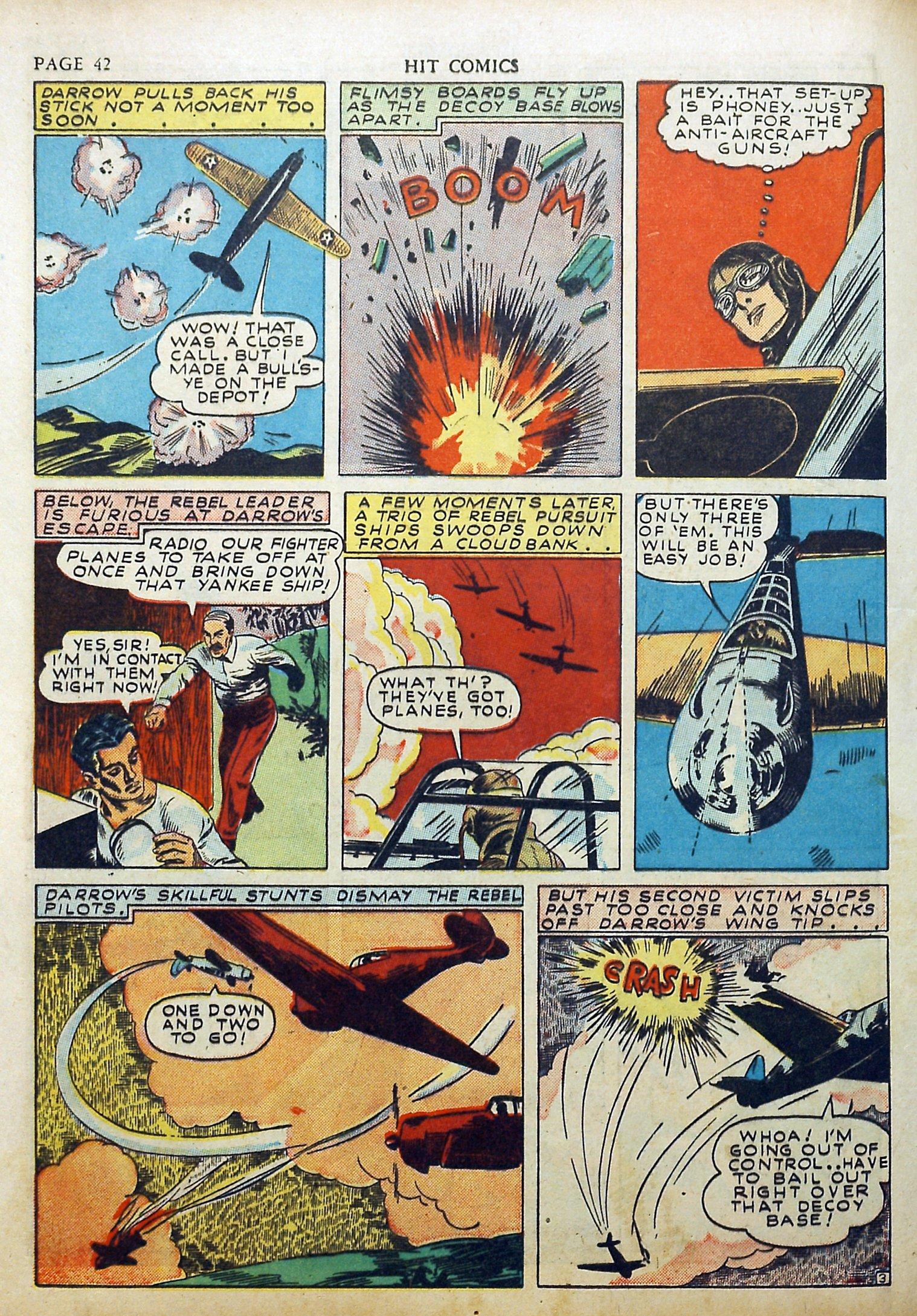 Read online Hit Comics comic -  Issue #17 - 44